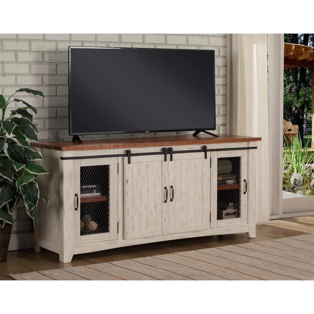 """Dixon White 65 Inch Tv Stands With Regard To Recent Martin Svensson Home Taos 65"""" Tv Stand – 65 Inches In Width (Gallery 3 of 20)"""