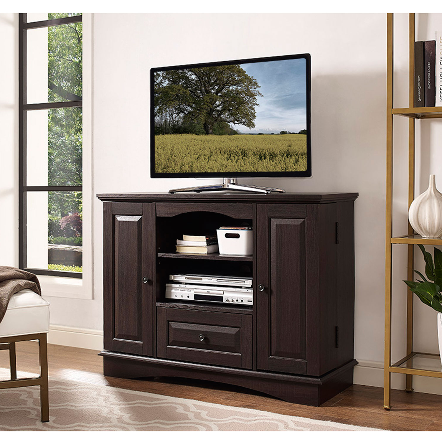 Dixon White 84 Inch Tv Stands With Regard To Latest Walker Edison Furniture Co (View 9 of 20)