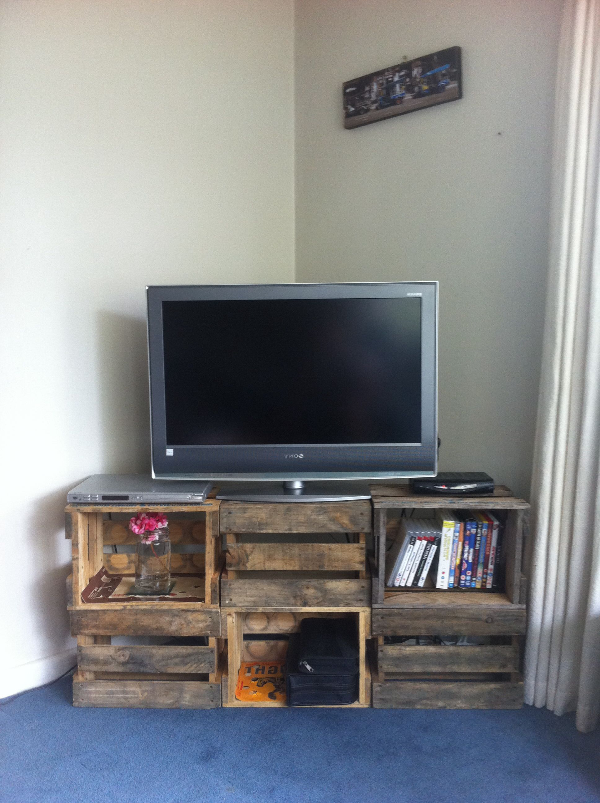Diy Tv Pertaining To Cool Tv Stands (View 20 of 20)