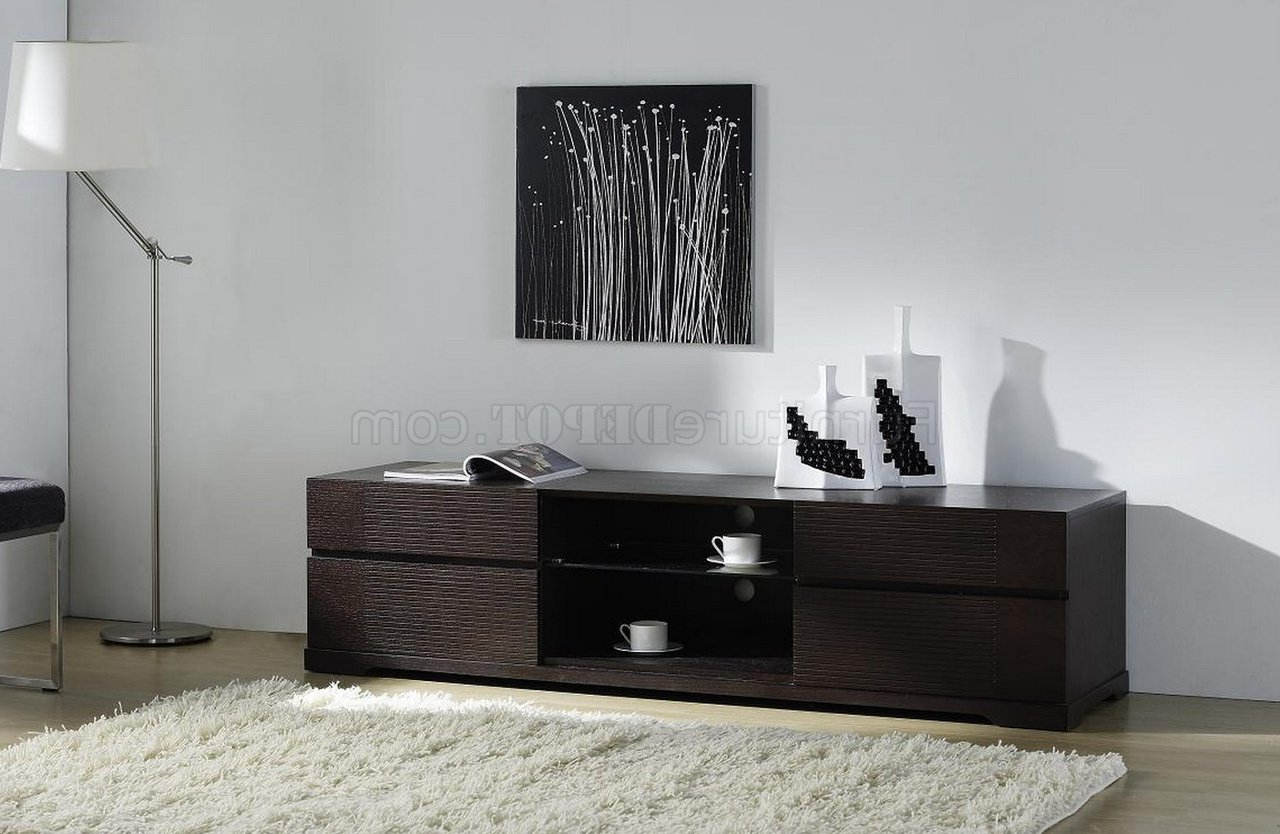 Echo Tv Standbeverly Hills In Wenge W/4 Drawers Regarding Favorite Wenge Tv Cabinets (View 18 of 20)