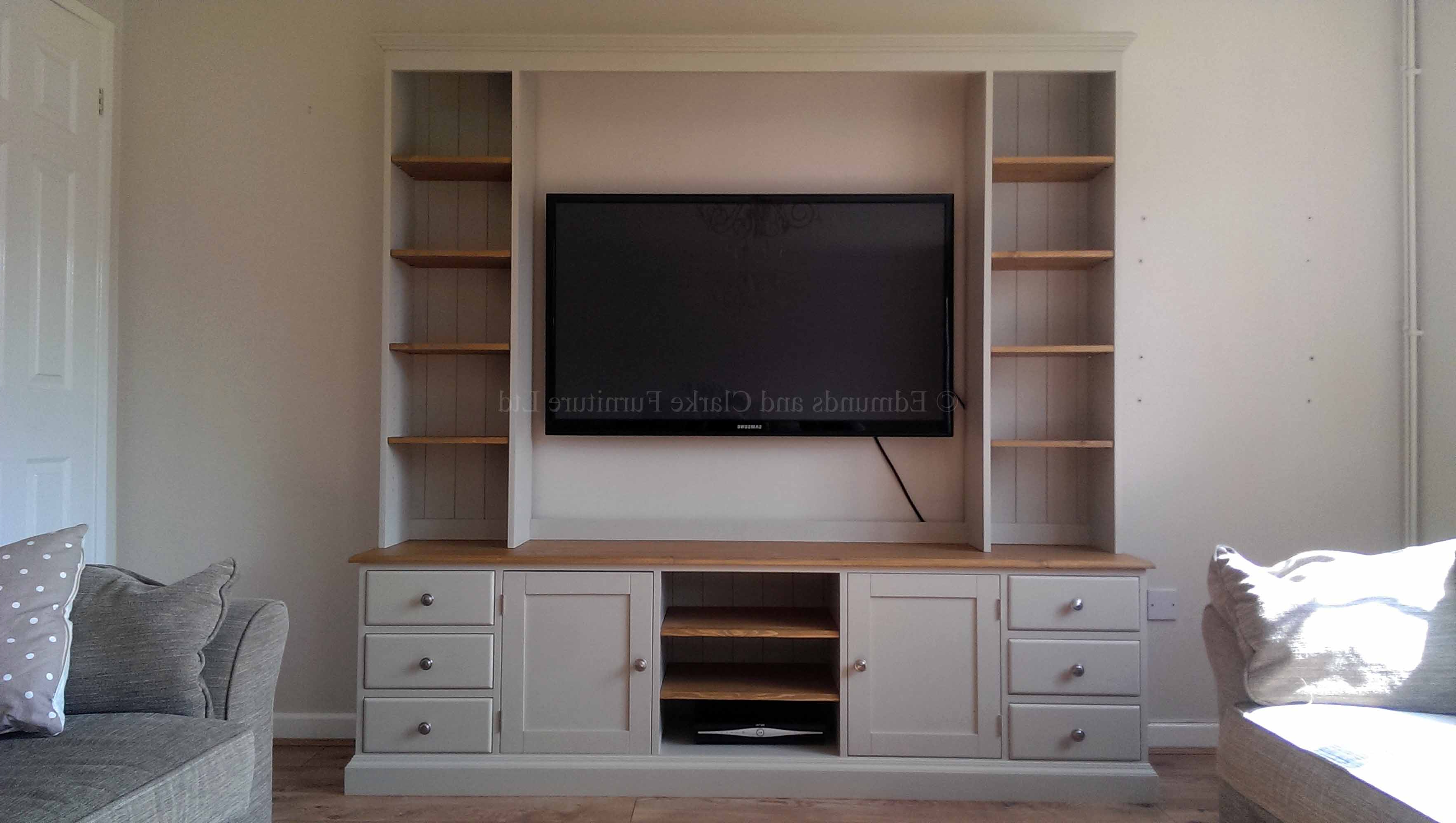 Edmunds Painted Tv Media Unit (Gallery 3 of 20)
