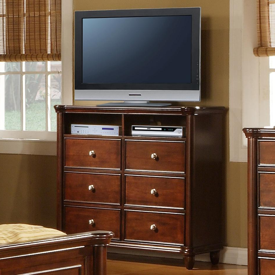 Elements International Hamilton Bedroom Tv Stand (View 8 of 20)