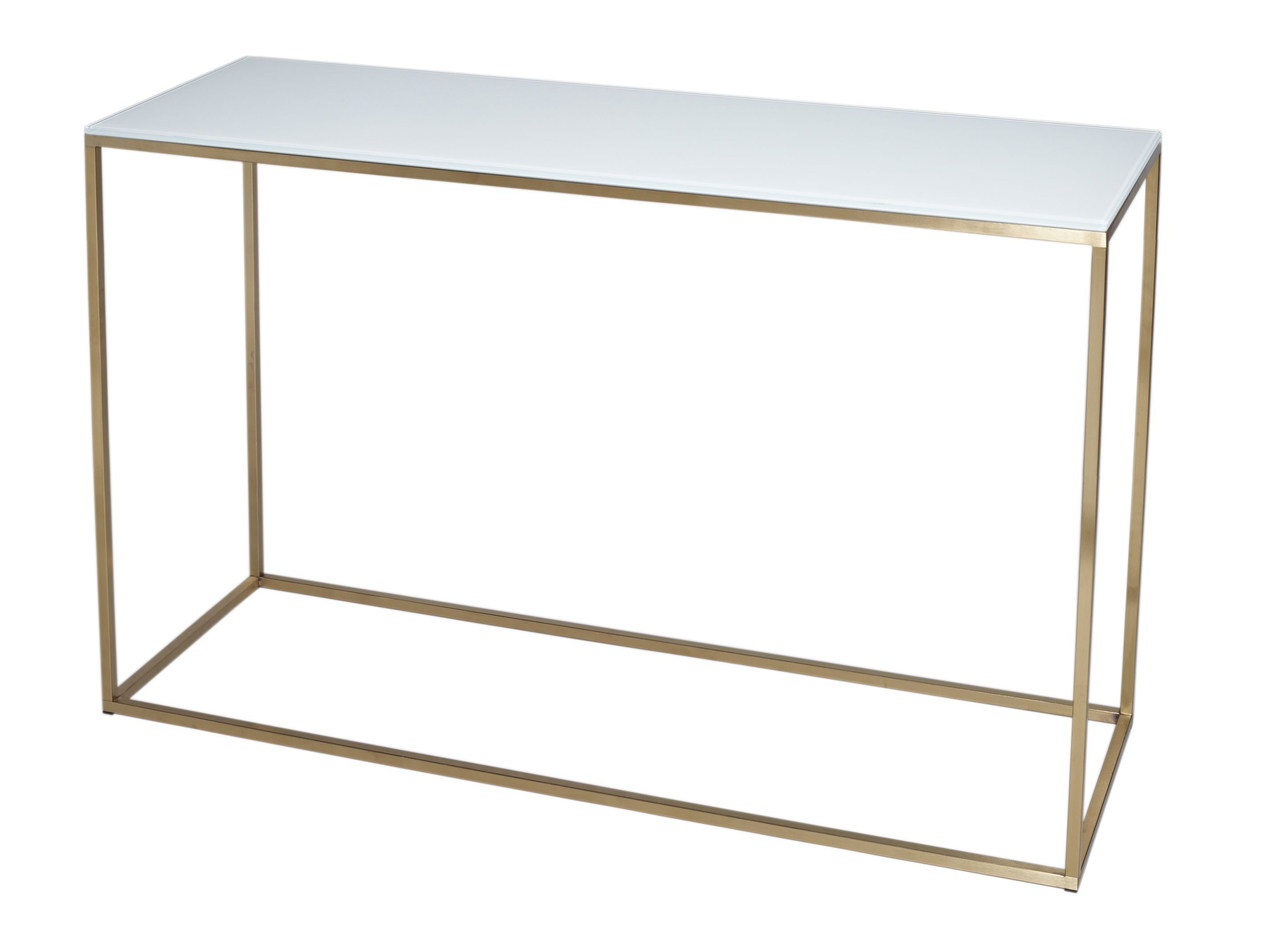 Elke Glass Console Tables With Brass Base Pertaining To 2018 Brass Console Table (View 8 of 20)