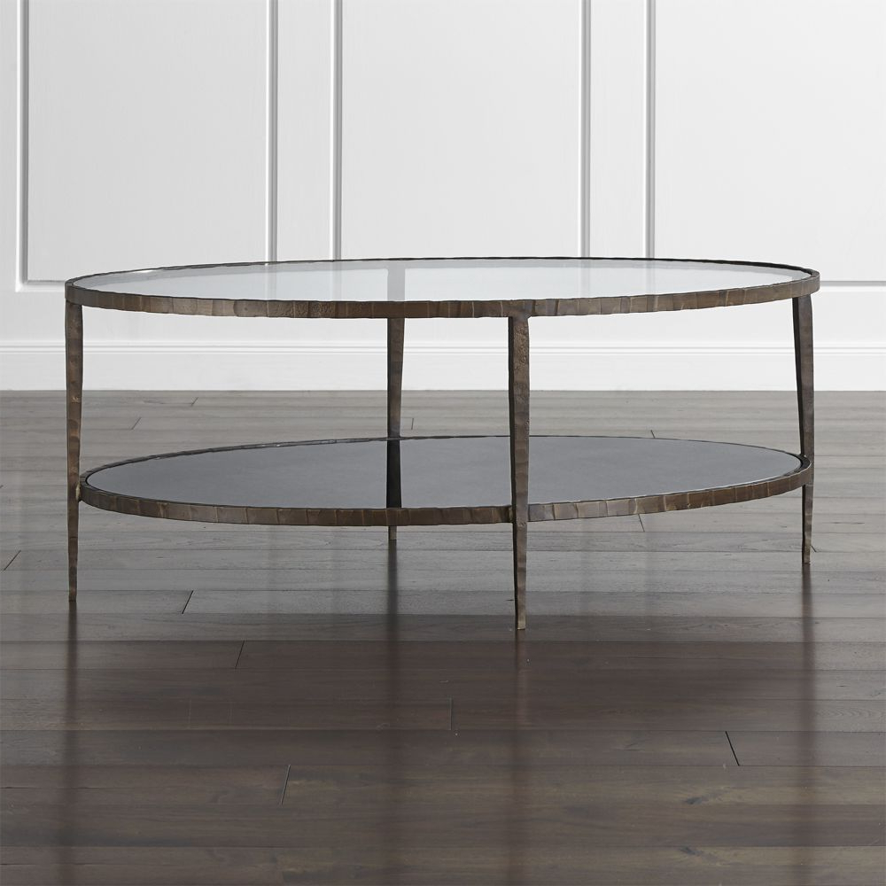 Elke Glass Console Tables With Polished Aluminum Base For Popular Jules Small Accent Table (View 14 of 20)