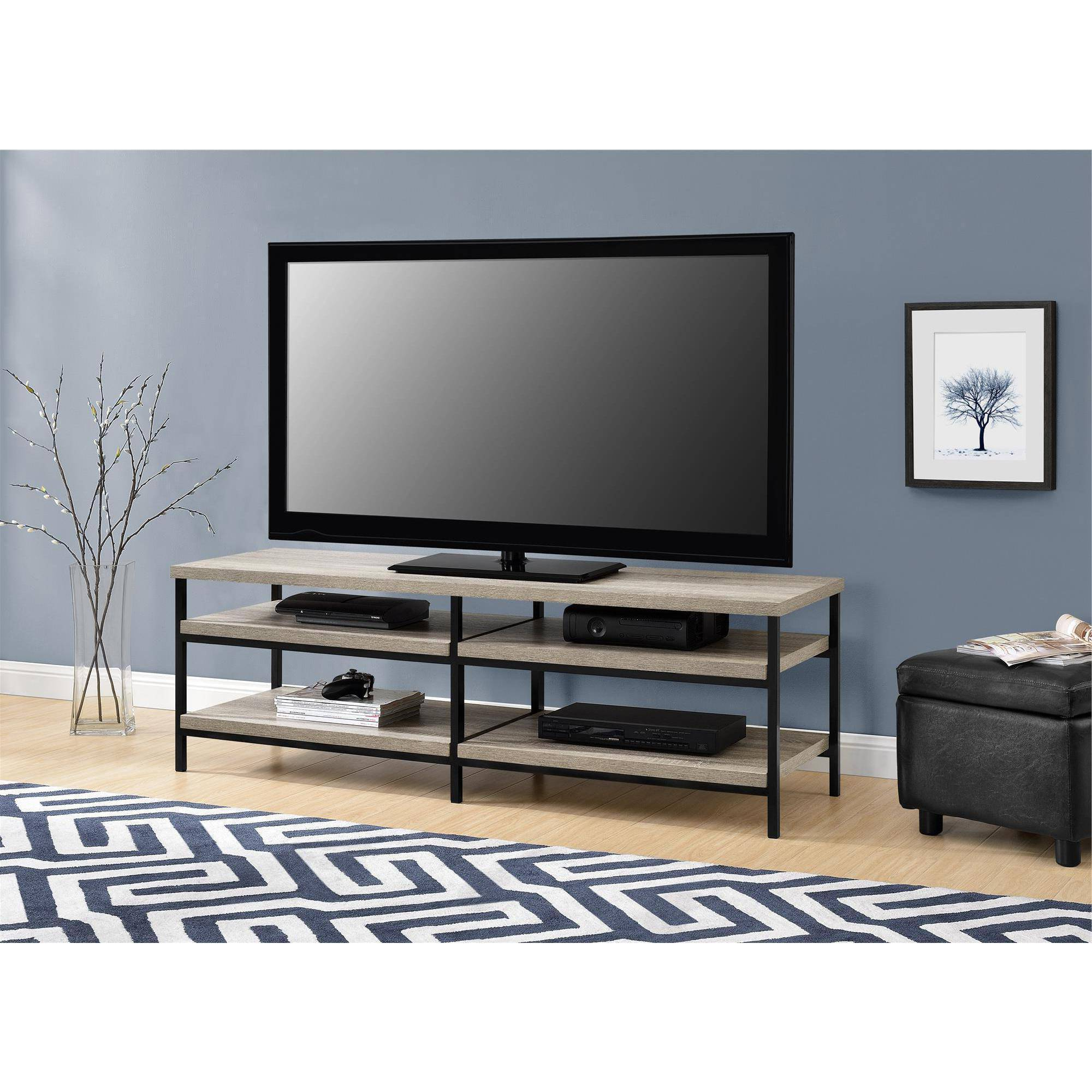 "Elmwood Tv Stand For Tvs Up To 60"", Sonoma Oak – Walmart In 2018 Comet Tv Stands (View 8 of 20)"