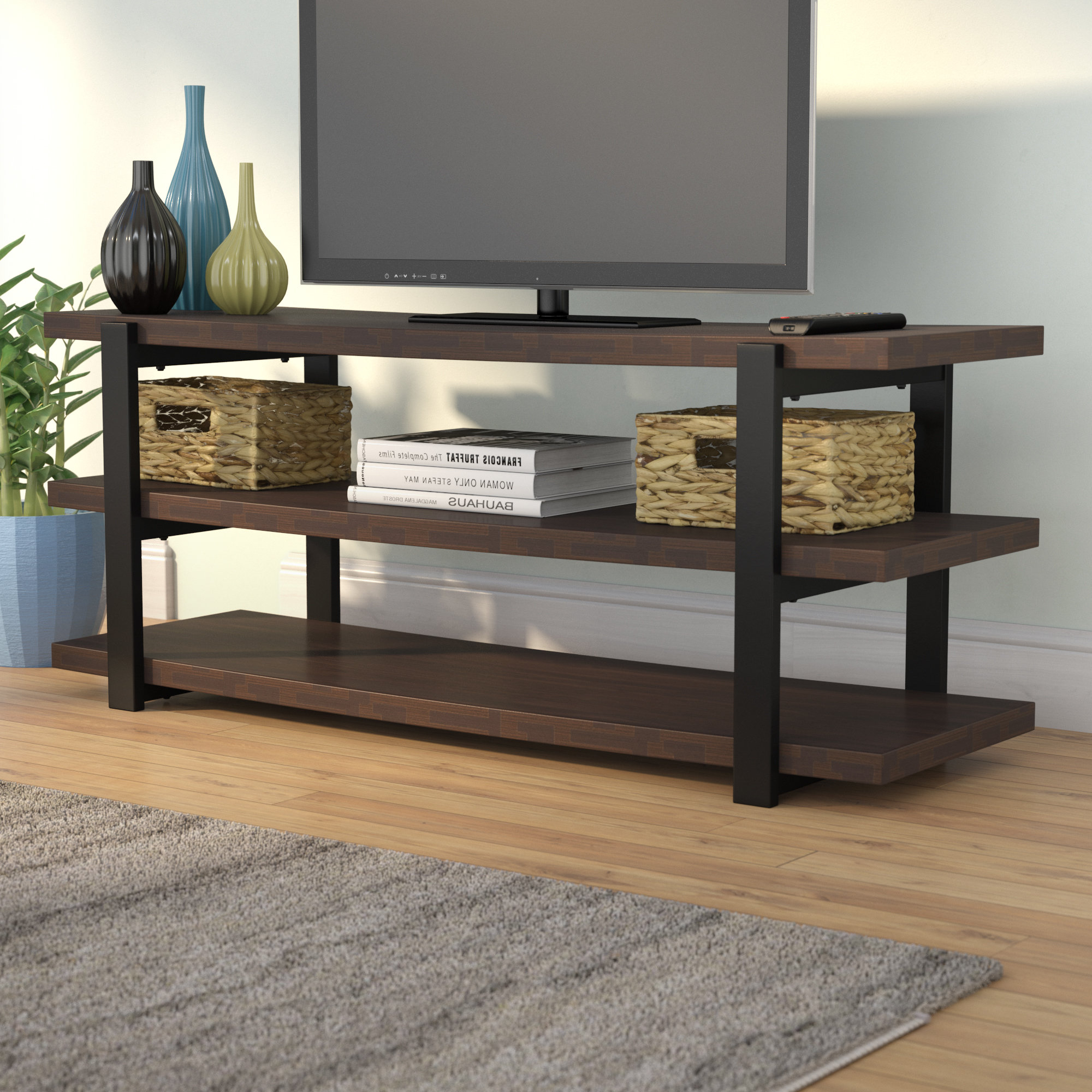 "Elroy Tv Stand For Tvs Up To 70"" & Reviews (View 3 of 20)"