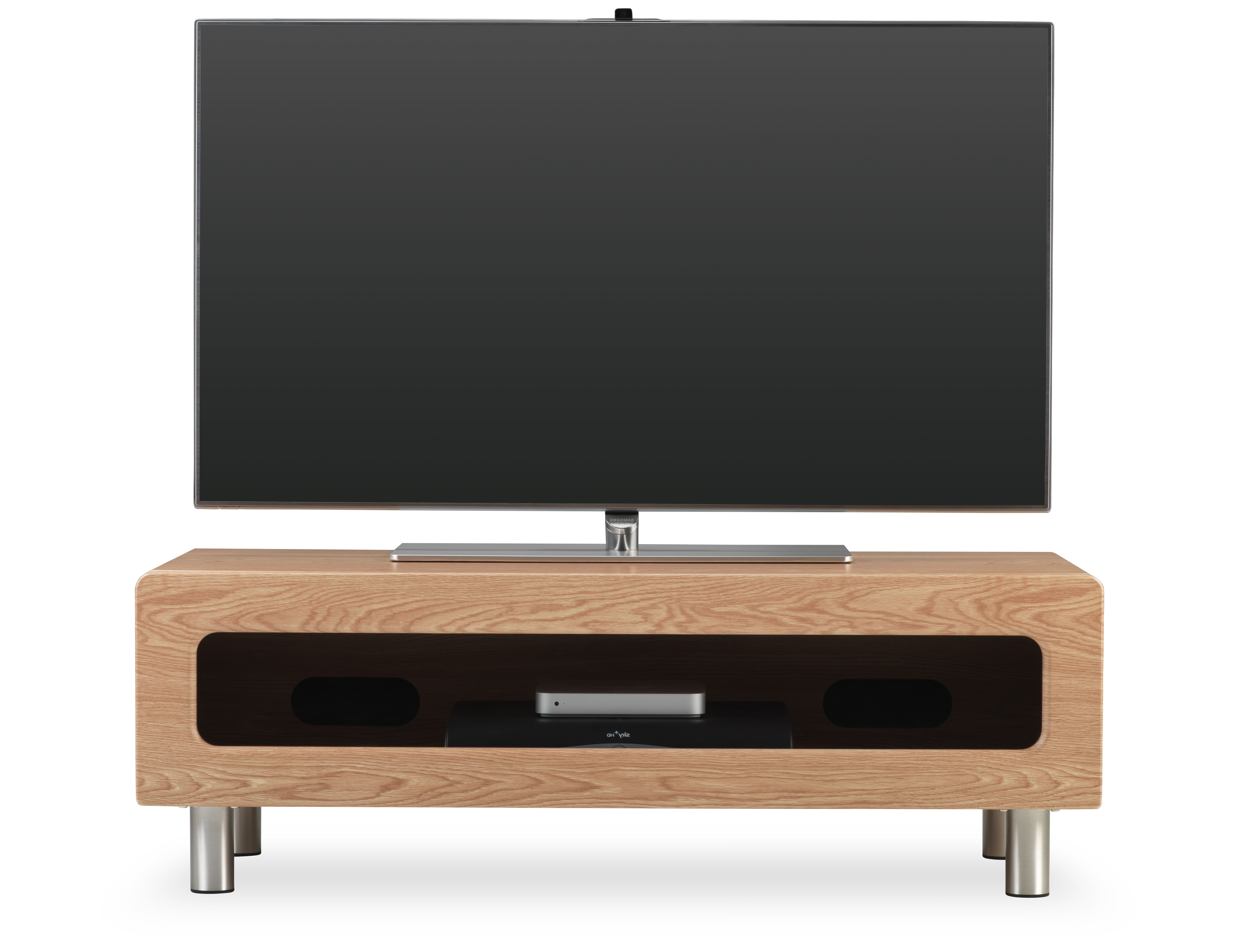 Enclosed Tv Cabinets For Flat Screens With Doors Regarding Fashionable New Ambri Alphason's New Ambri Range Of Tv Stands Offers A Modern (Gallery 19 of 20)