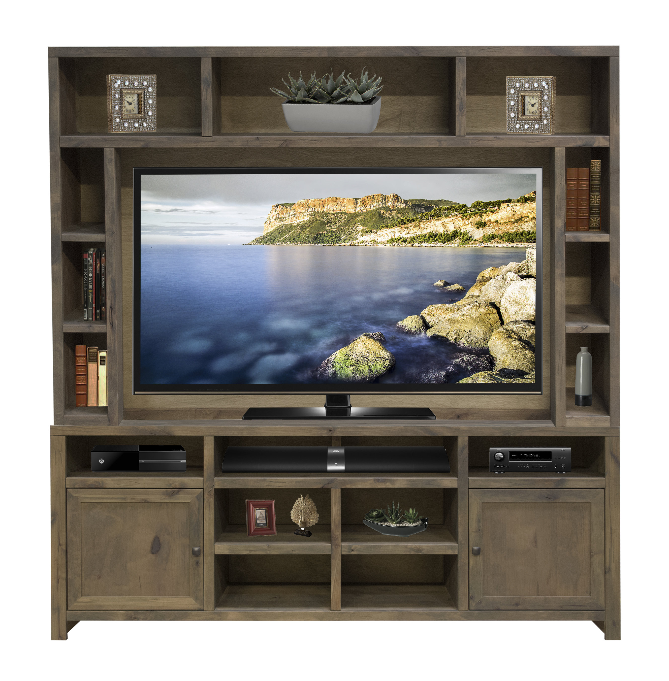 Entertainment Center Rustic Tv Stands & Entertainment Centers You'll Regarding 2017 Rustic Tv Cabinets (View 4 of 20)