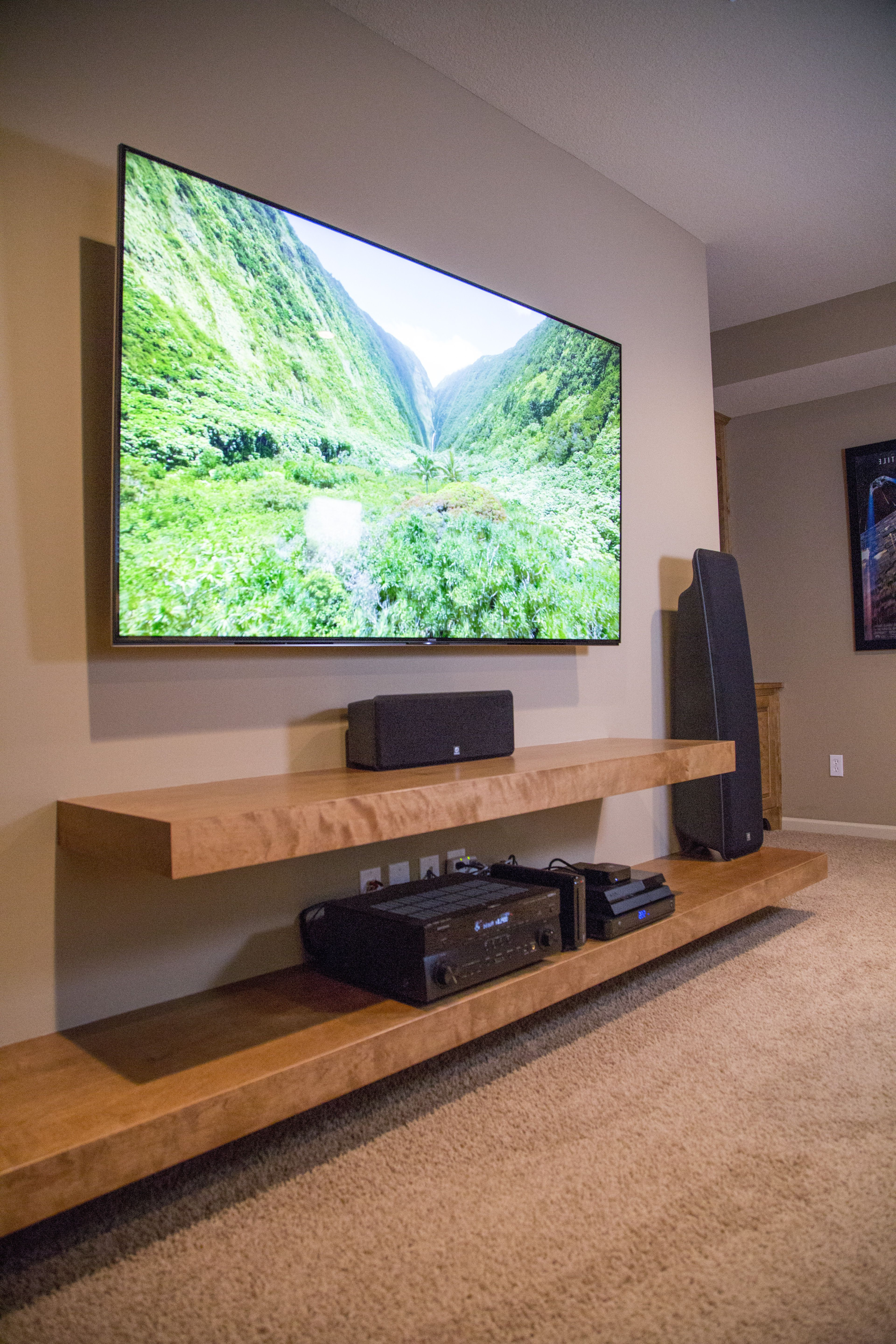 Entertainment Center Tv Stands Inside 2017 17 Diy Entertainment Center Ideas And Designs For Your New Home (Gallery 16 of 20)