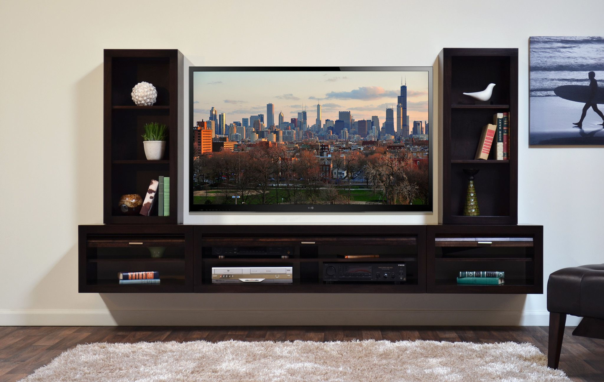 Entertainment Units Wall Mounted – Google Search (View 10 of 20)