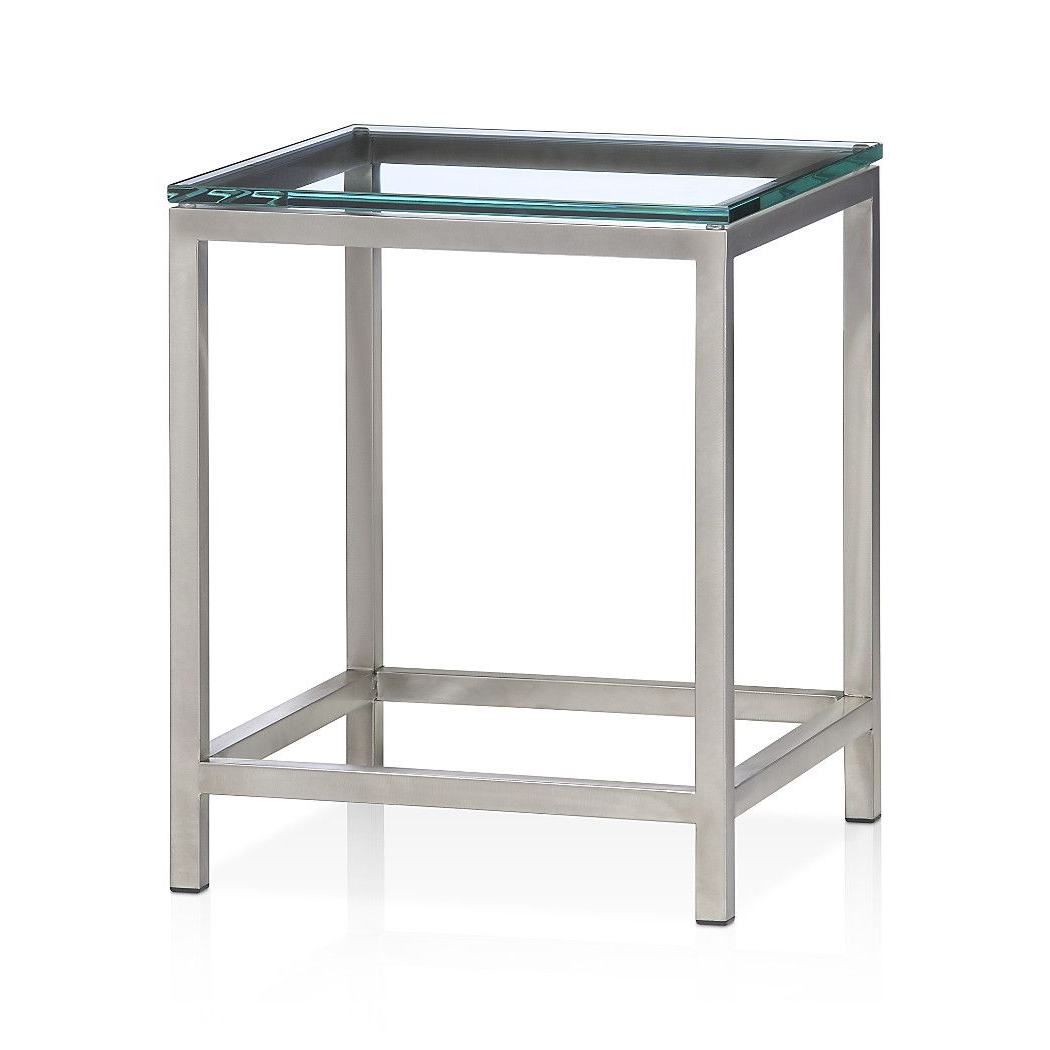 Era Limestone Console Tables With Regard To Famous Era Glass Side Table (View 8 of 20)