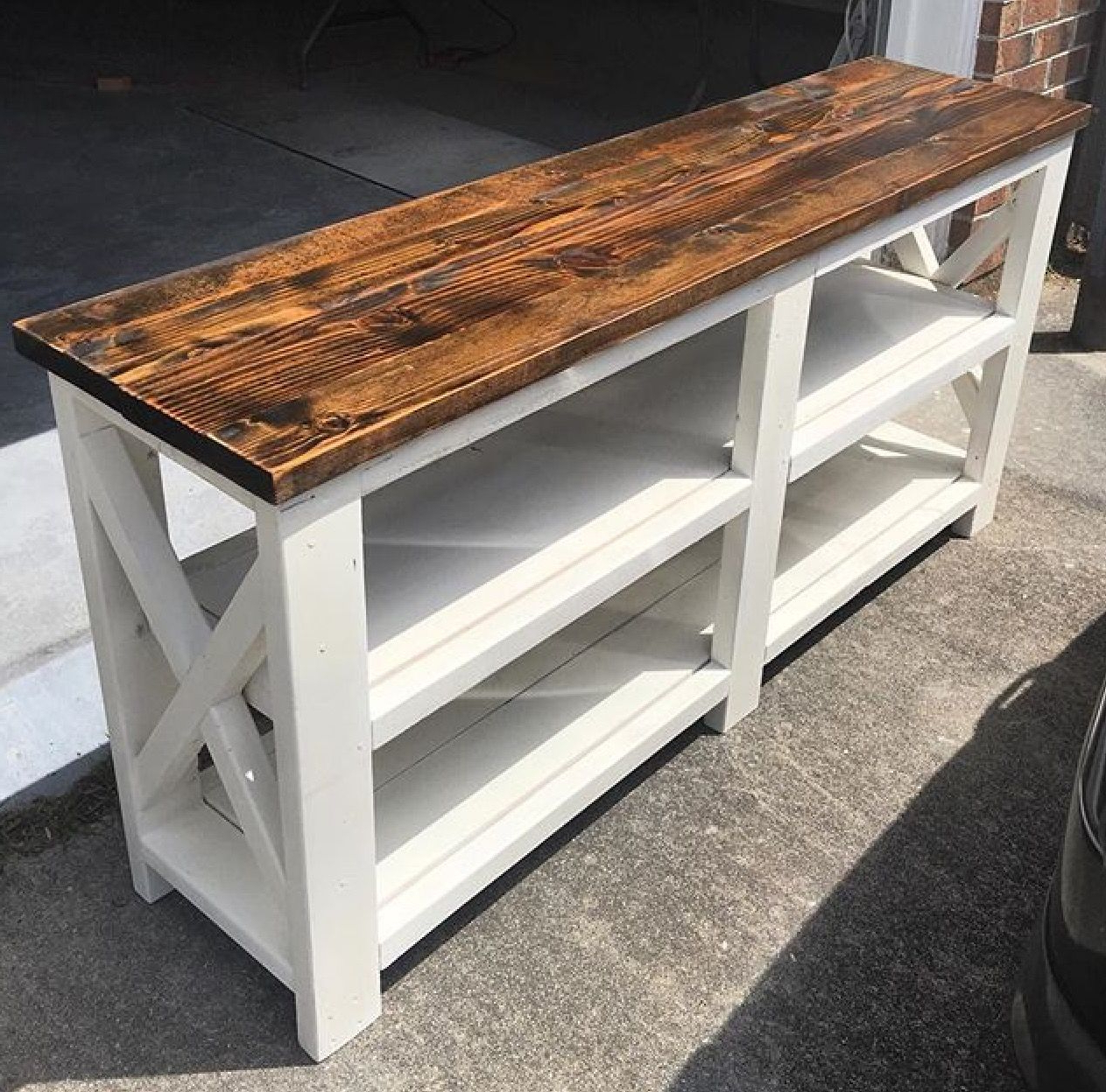 Ethan Console Tables With Regard To Recent Ana White Rustic Console Table Diy Projects Coffee End Slide Under (Gallery 19 of 20)
