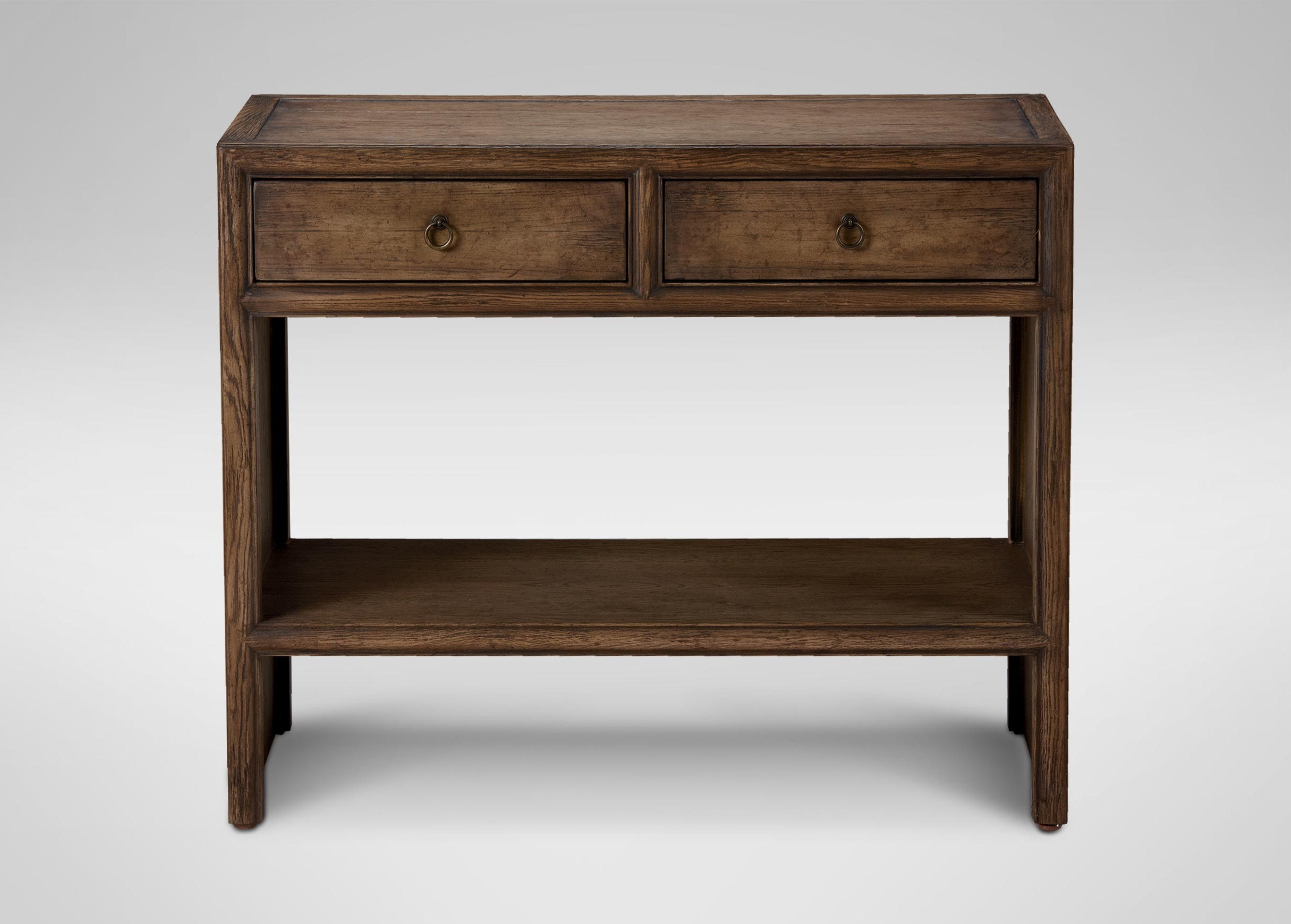 Ethan Console Tables Within Well Known Small Shogun Console Table Clearance Ethan Allen Tuscan Console Table (Gallery 11 of 20)