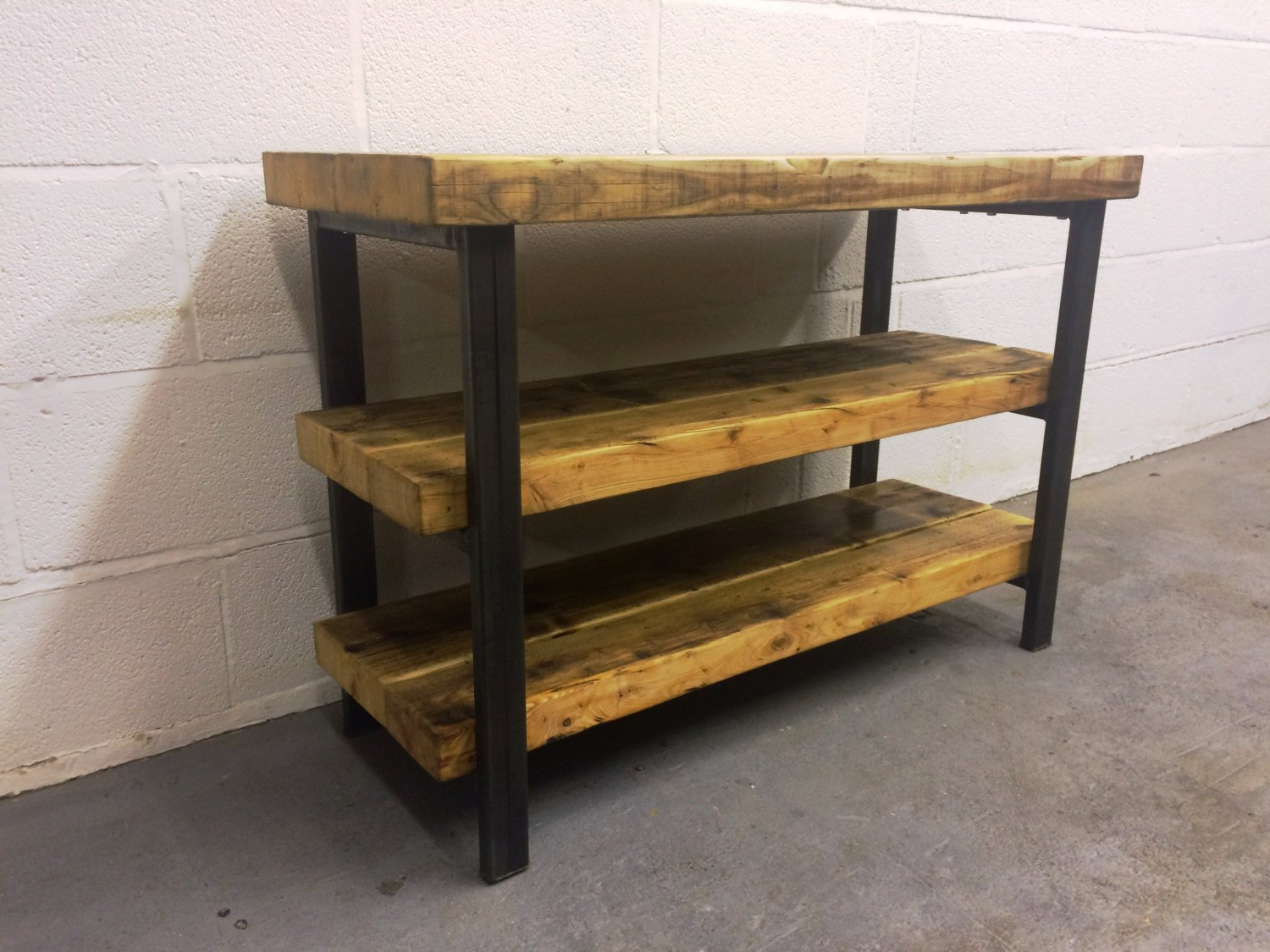 Etsy Pertaining To Industrial Metal Tv Stands (View 1 of 20)