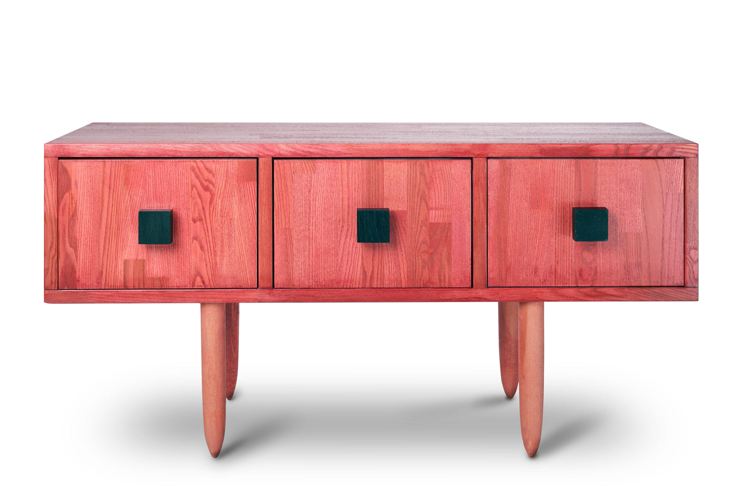 Etsy Pertaining To Red Tv Units (View 17 of 20)