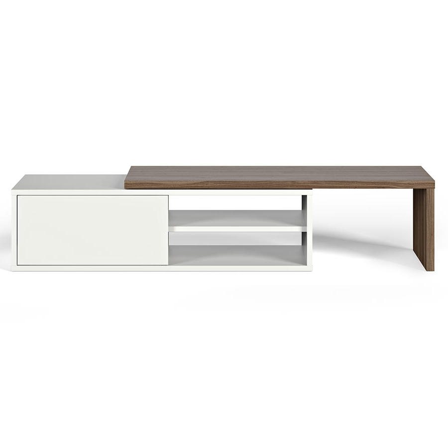 Eurway Furniture In Contemporary White Tv Stands (View 11 of 20)