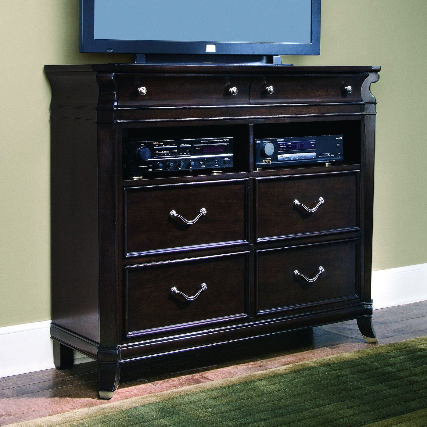 Expresso Tv Stands Inside 2017 Samuel Lawrence 5025 160 Crestview Entertainment Console Tv Stand (View 5 of 20)