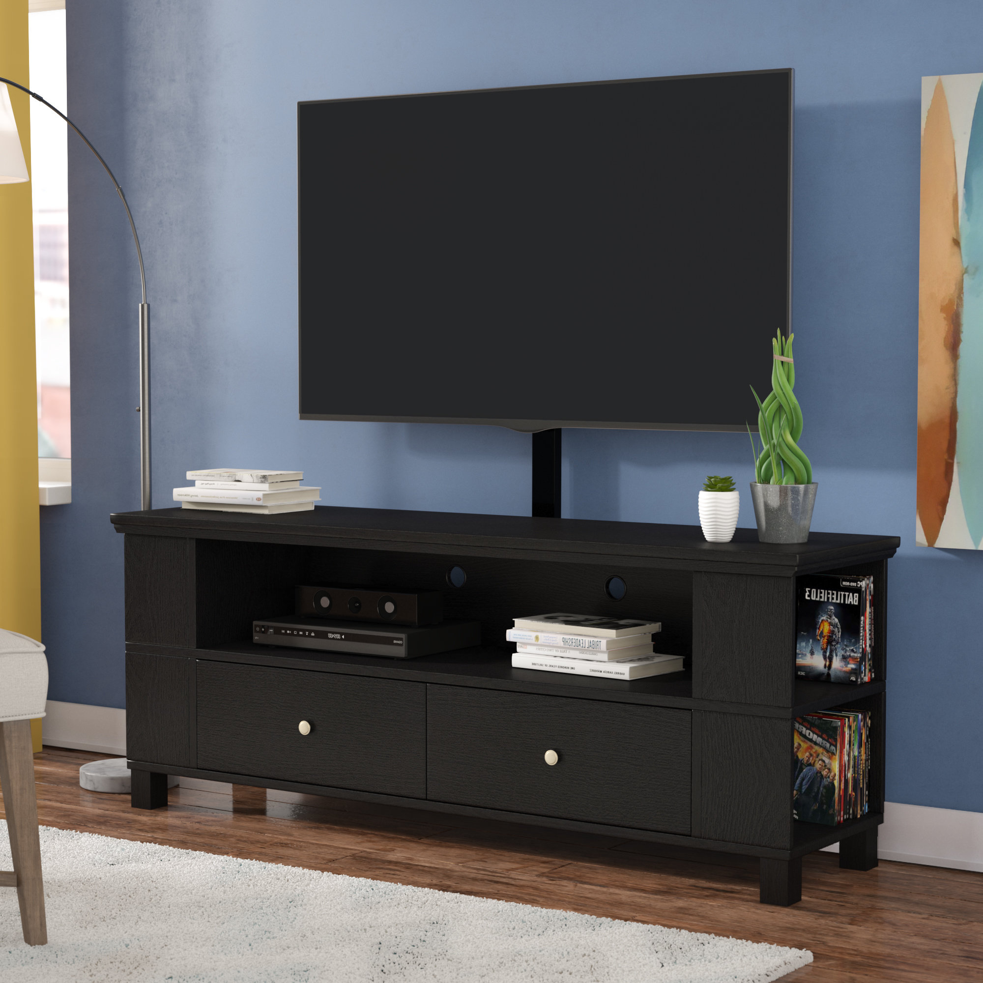Extra Long Tv Stand (Gallery 4 of 20)