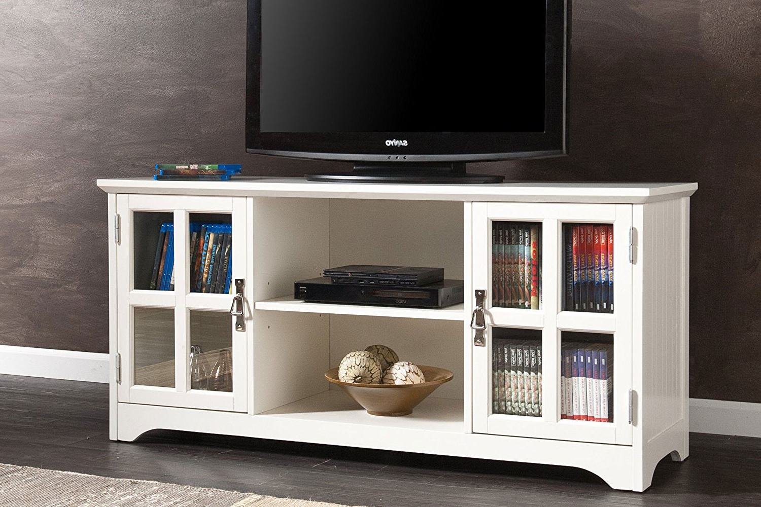Famous 12 Best Tv Consoles 2018 Throughout Laurent 50 Inch Tv Stands (View 16 of 20)