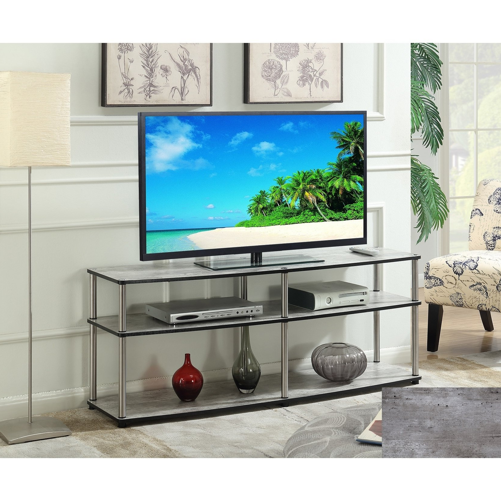 Famous 3 Tv Stands & Entertainment Centers For Less (View 15 of 20)