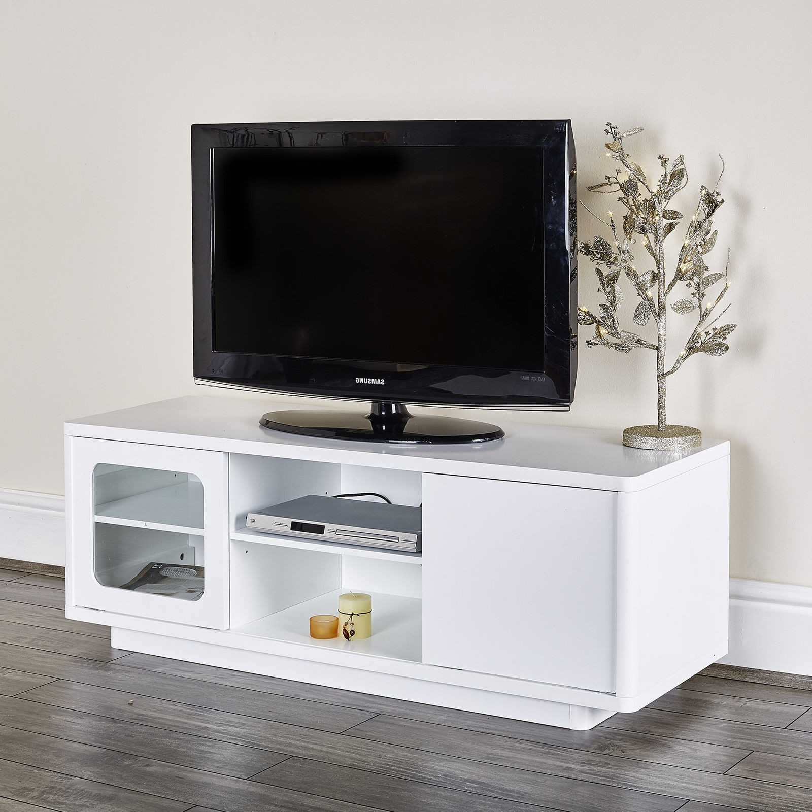 Famous 36 Inch Wide Tv Stand Modern With Mount Entertainment Center Wall In White And Black Tv Stands (View 7 of 20)