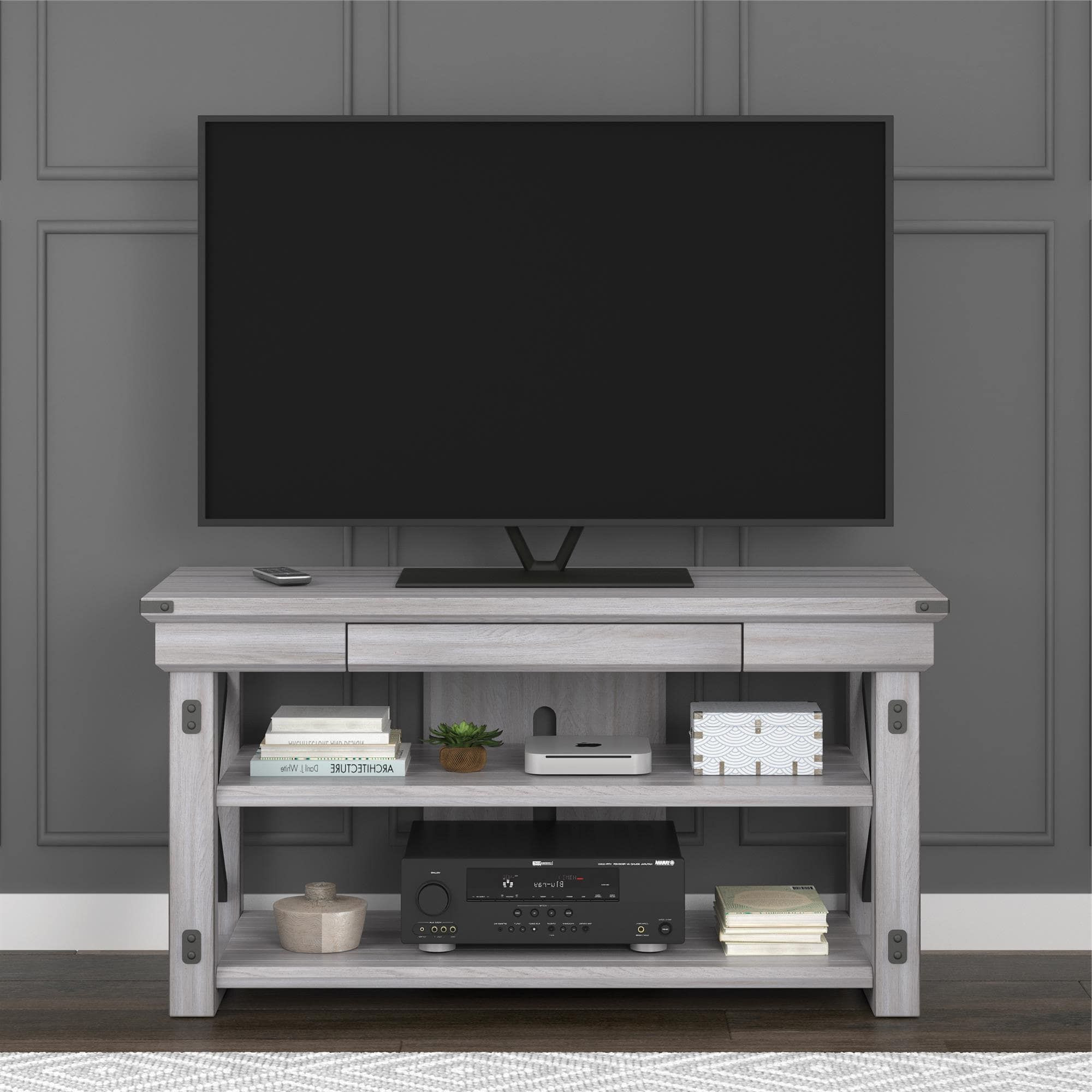 Famous 50 White Tv Stand (Gallery 15 of 20)