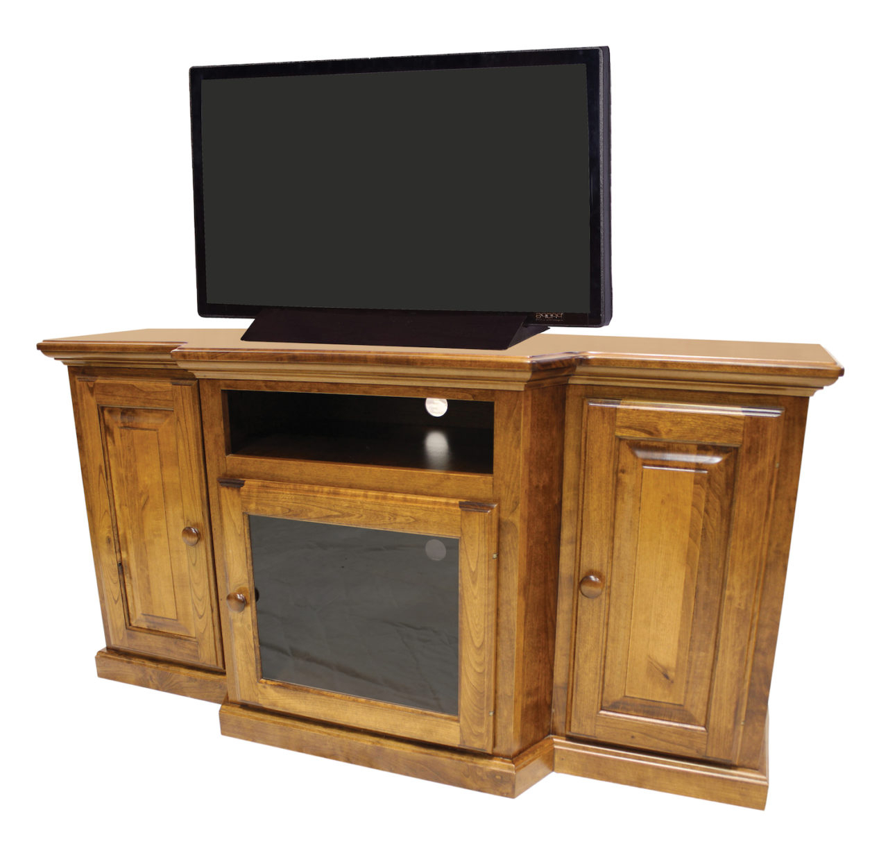 Famous 959 161 Kirtley Slimline Tv Stand Cp – Gish's Amish Legacies Inside Slim Line Tv Stands (Gallery 12 of 20)