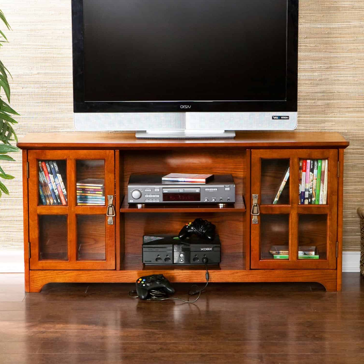 Famous Best Tv Cabinet With Doors For Flat Screen Tvs With Oak Tv Cabinets For Flat Screens With Doors (View 7 of 20)