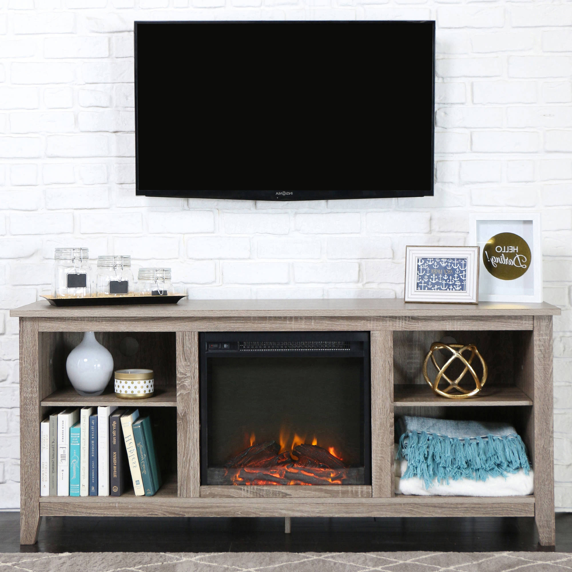 Famous Big Lots Tv Stand Manual Electric Fireplace Walmart White Amazon And Within Tv Stands With Storage Baskets (Gallery 3 of 20)