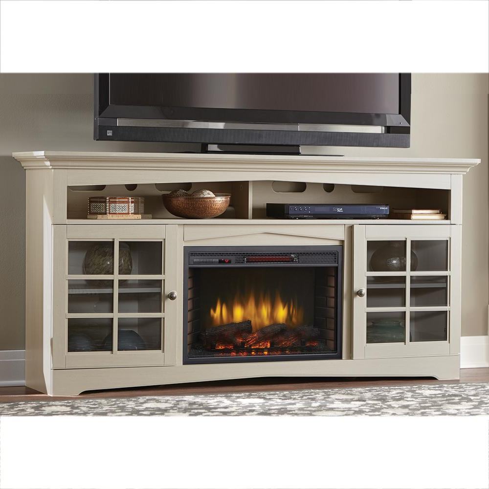 Famous Bjs Tv Stands Pertaining To Bj's Albany Tv Stands With Electric Fireplaces Built In Infrared (View 13 of 20)