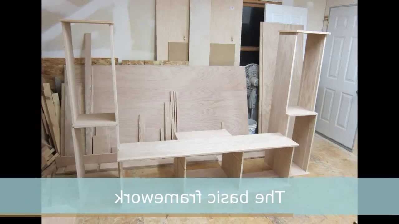 Famous Building A Wood Tv Stand – Youtube Intended For Hardwood Tv Stands (Gallery 17 of 20)