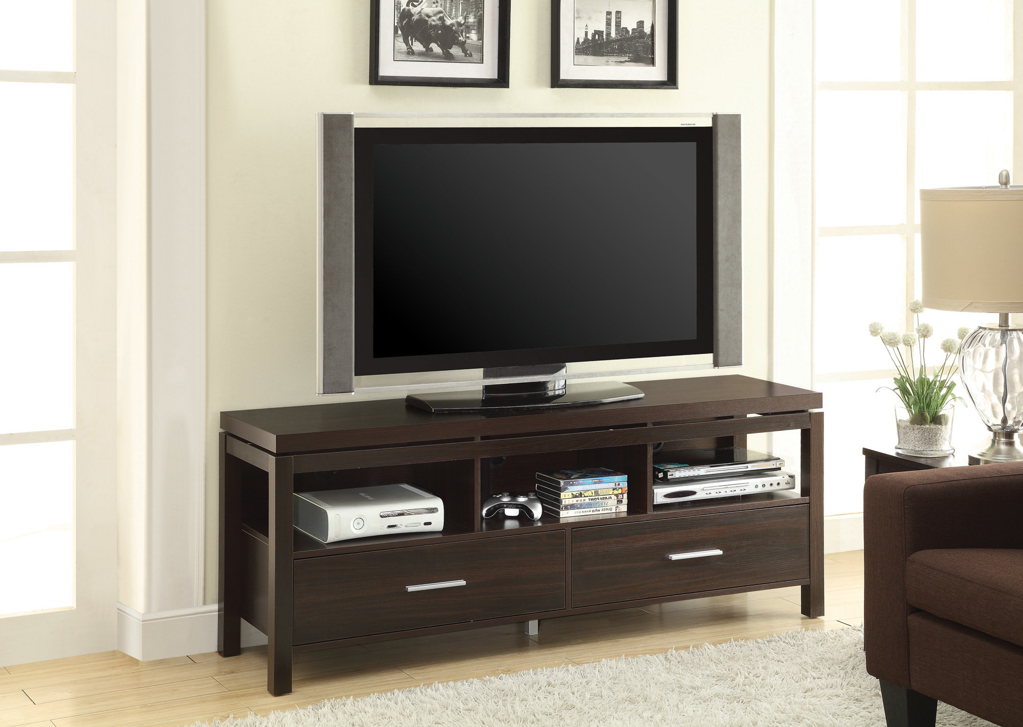 Famous Cato 60 Inch Tv Stands In Floating Shelves For Tv (View 11 of 20)