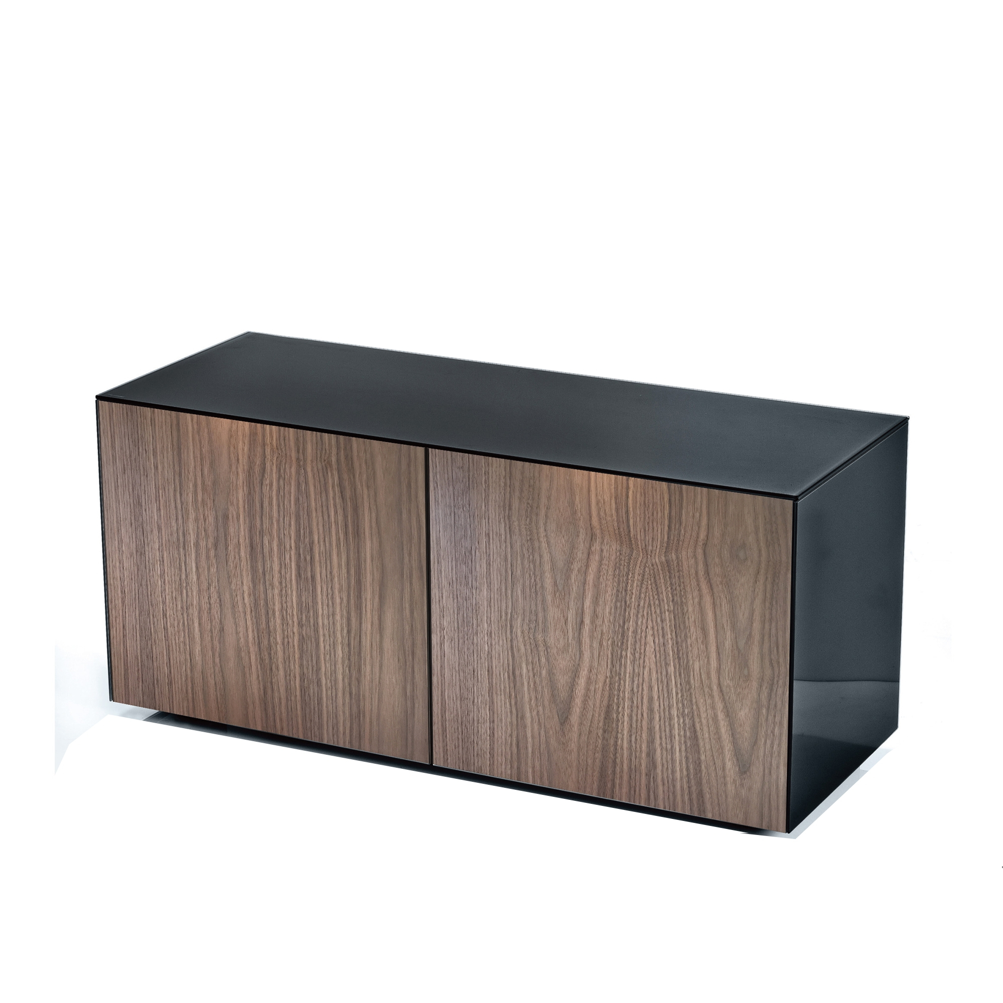 Famous High Gloss Tv Unit With Wireless Phone Charging In Black – Tv & Hifi With Regard To Tv Units Black (Gallery 16 of 20)