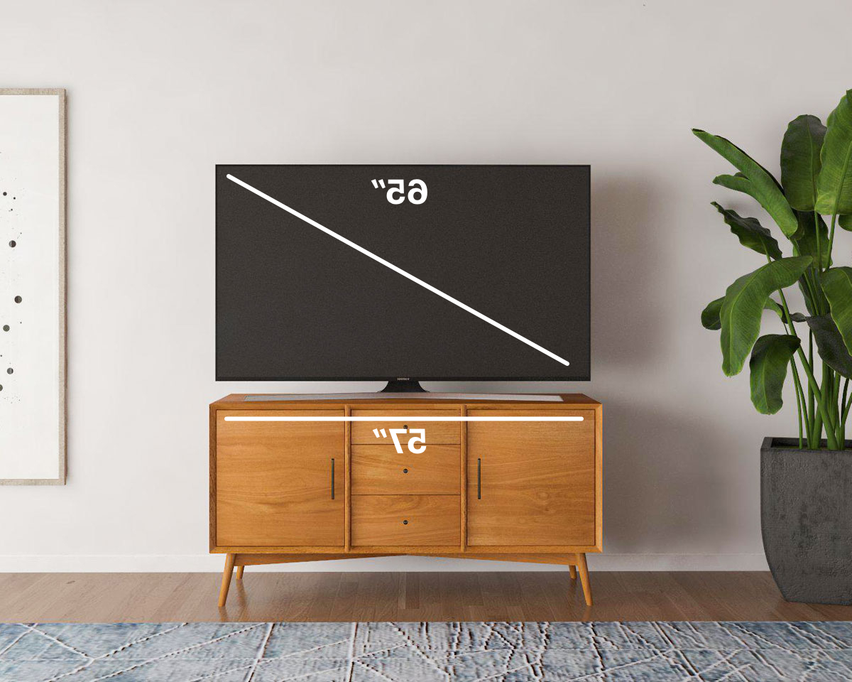 Famous How To Find The Best Tv Stand For Your Tv Size (Gallery 14 of 20)