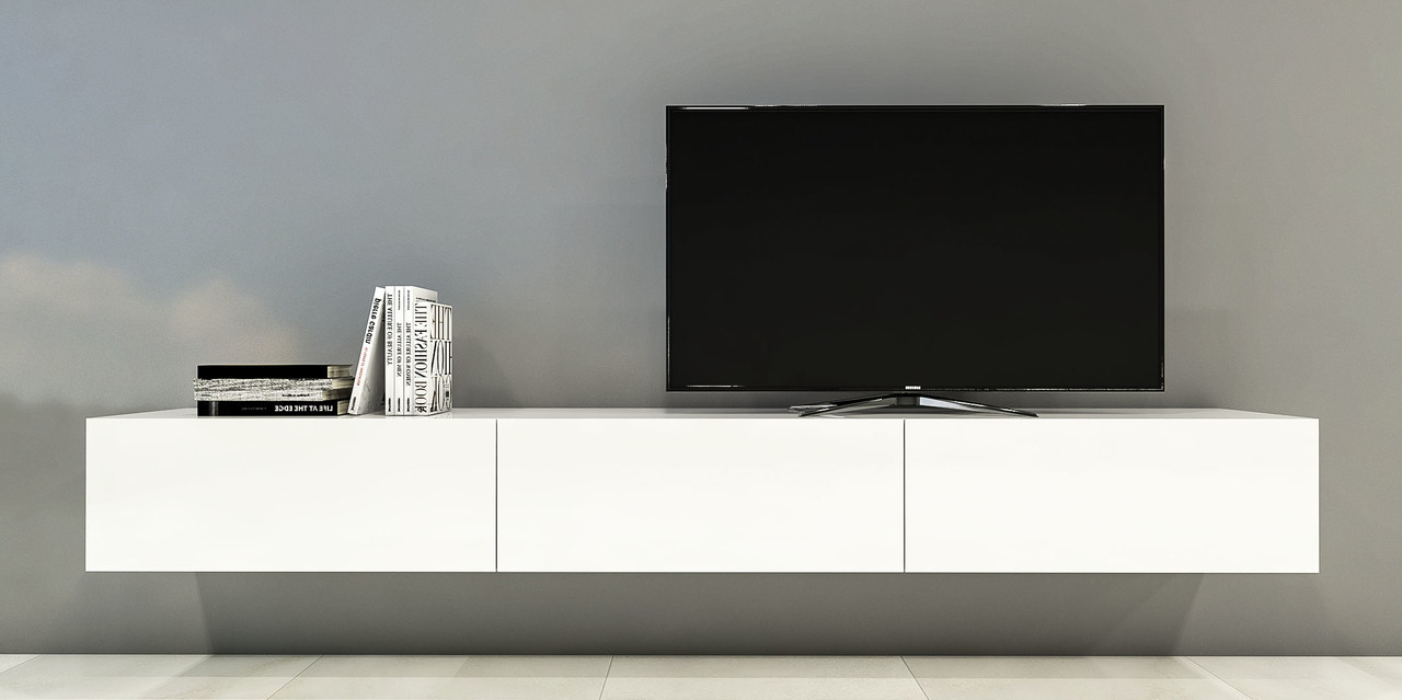 Famous Long White Tv Stands Within Tv Cabinet With Doors Ikea Stand For Narrow Space Brimnes Bench Base (View 20 of 20)