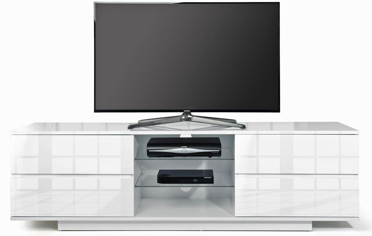 Famous Mda Designs Avitus White/white Tv Stands Intended For Gloss White Tv Cabinets (View 13 of 20)