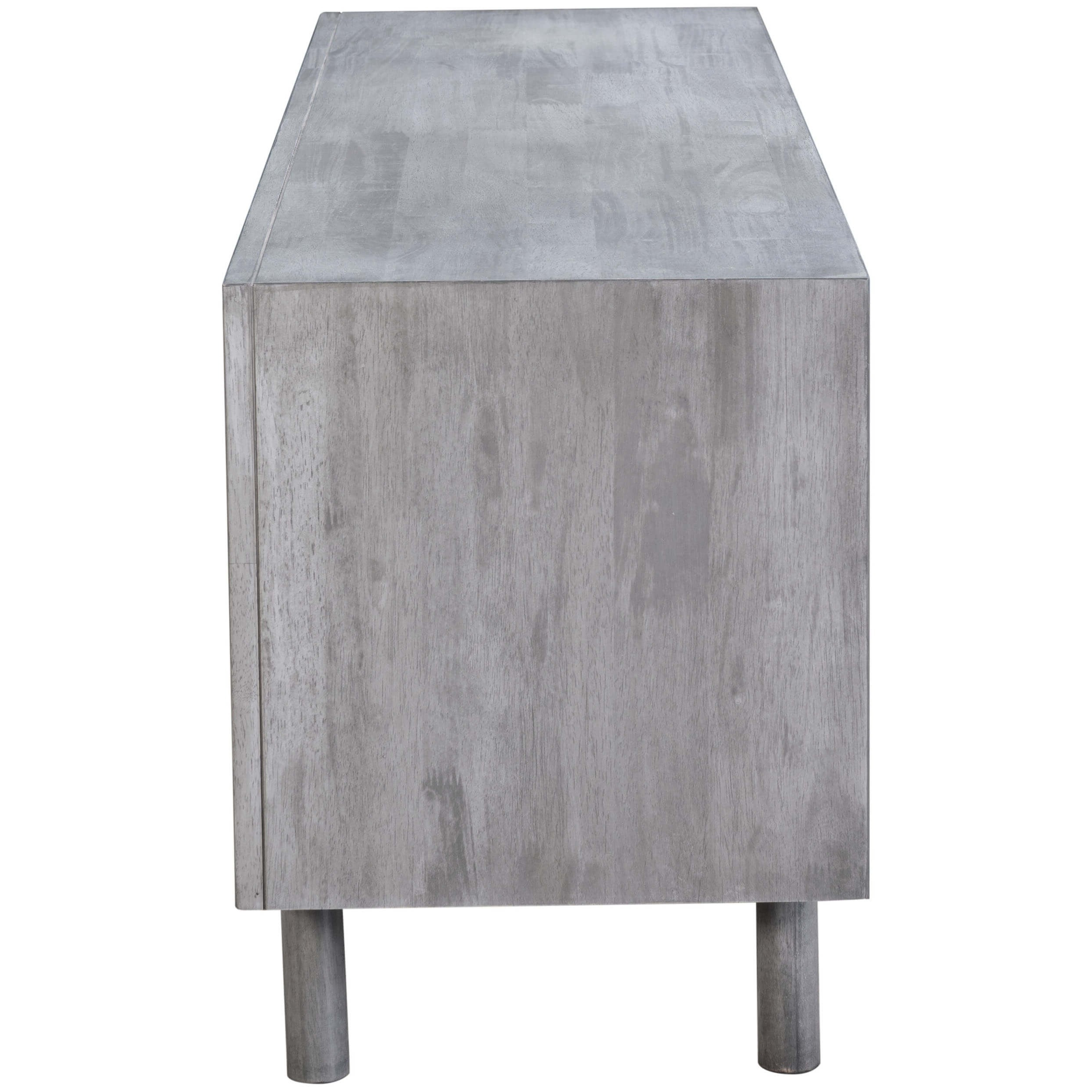 Famous Raven Grey Tv Stands In Raven Tv Stand, Old Gray – Zuo Modern – Furniture (View 3 of 20)