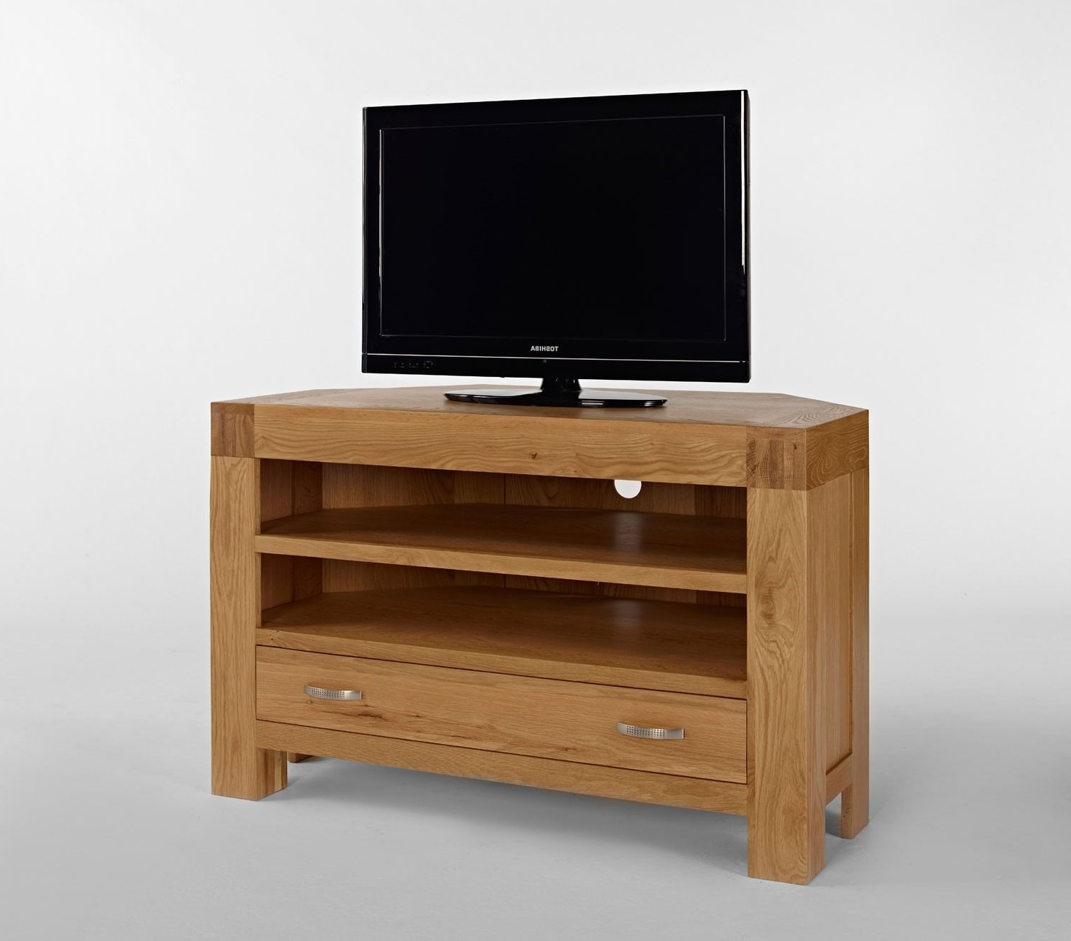 Famous Santana Oak Tv Furniture In Santana Blonde Oak Corner Tv Unit – The Santana Blonde Oak Corner Tv (View 6 of 20)