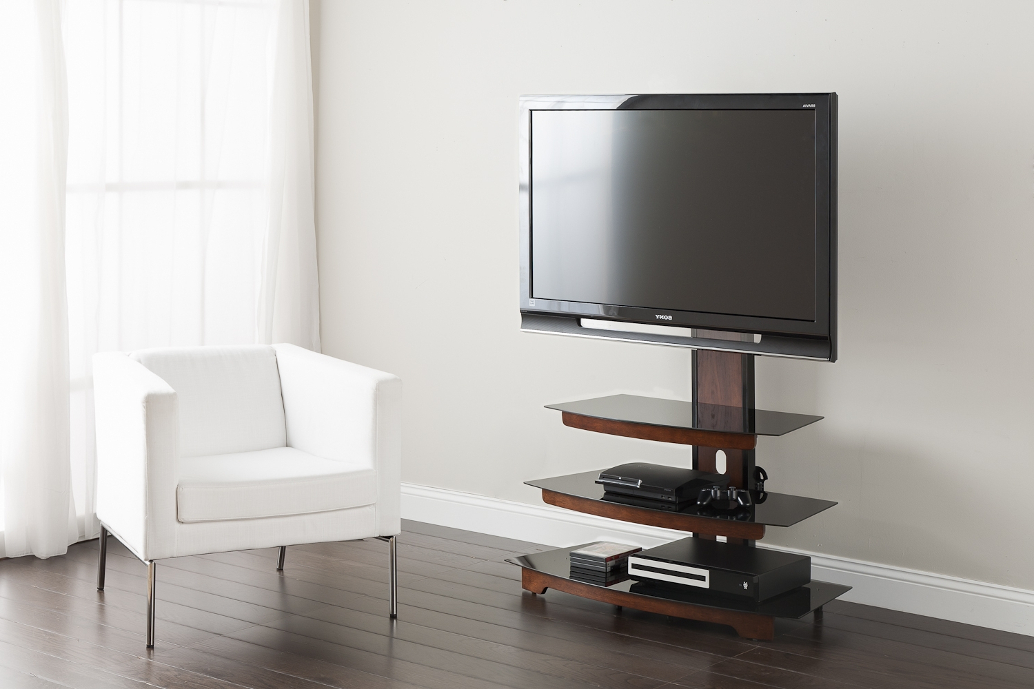 Famous Trendy Tv Stands With Regard To Television Cabinets Tv Stands With Mount Small For Bedroom Tall Ikea (View 6 of 20)