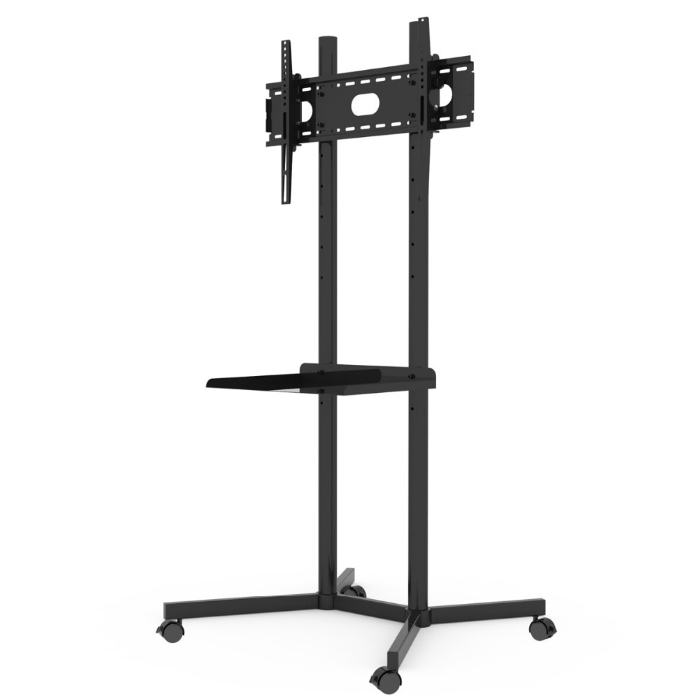 Famous Tv Stands With Mount Intended For 32 60 Lcd Floor Mount Tv Stands In Tv Mount From Consumer (Gallery 20 of 20)