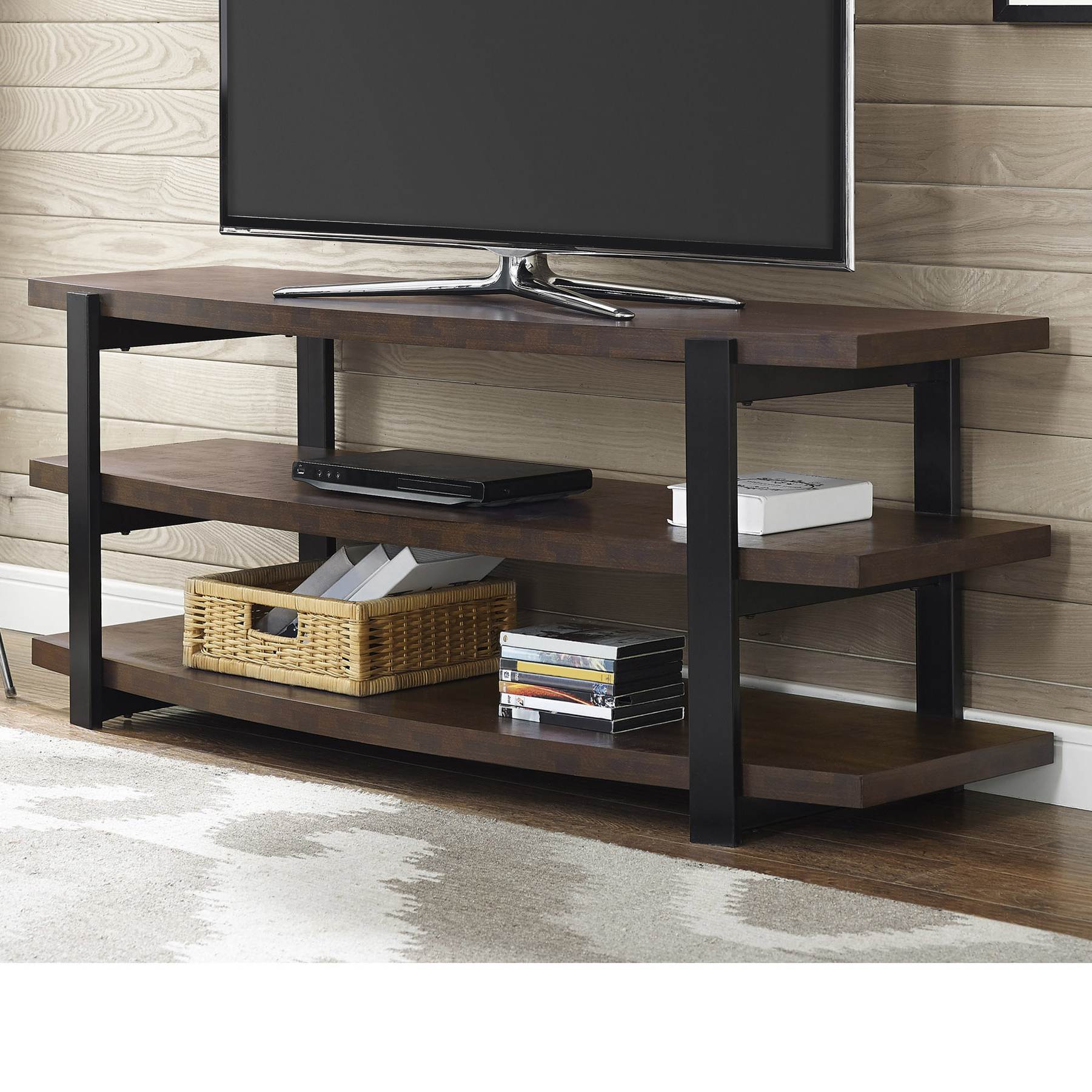 Fancy Tv Stands With Regard To Well Liked Awesome Most Tvs Up To Inch Tv Stand Then Walker Edison Tv Stand To (Gallery 18 of 20)
