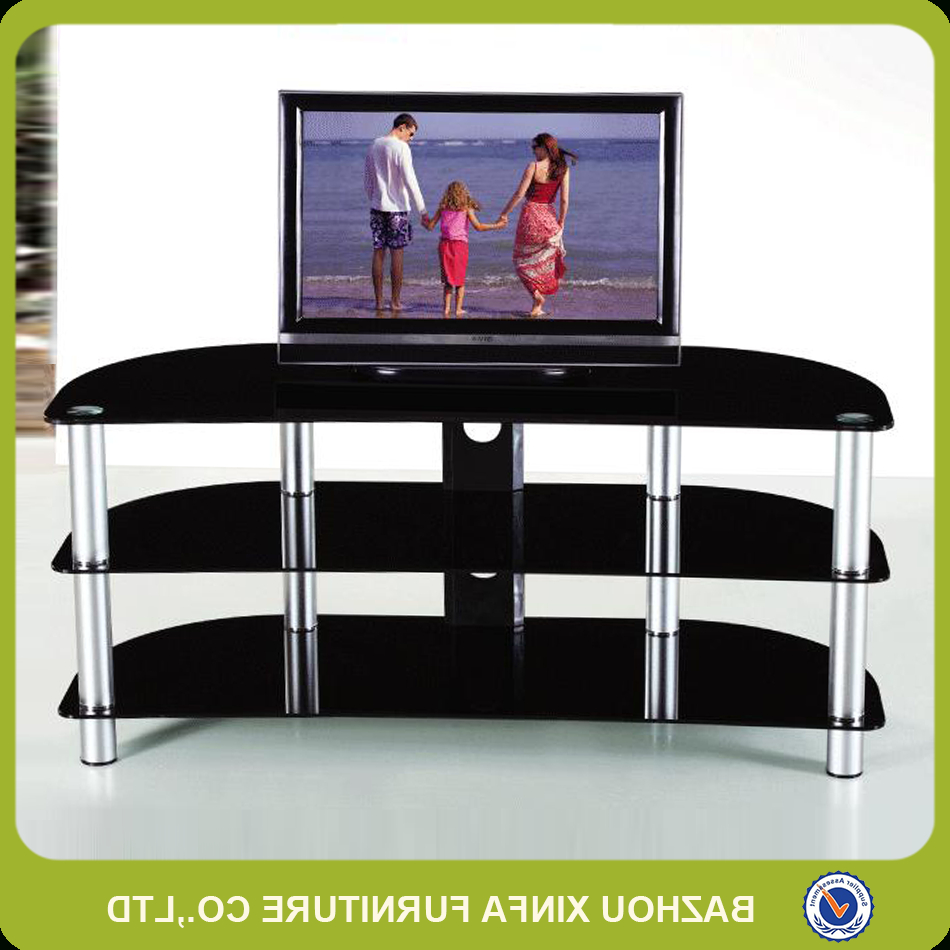 Fancy Tv Stands Within Popular Fancy New Classic Design Glass Lcd Tv Stand Living Room Furniture (View 8 of 20)