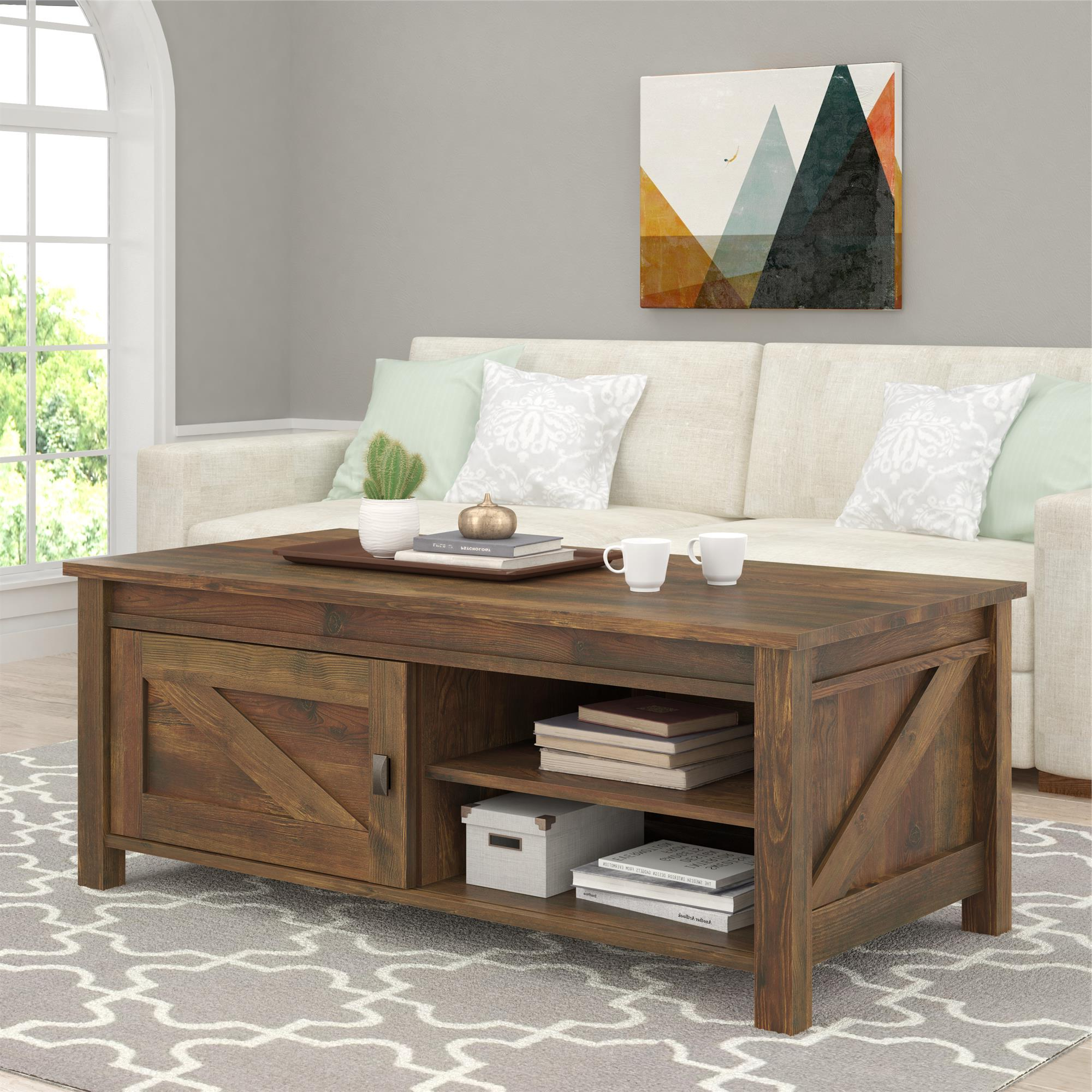 Farmington Coffee Table, Rustic Pertaining To Rustic Coffee Table And Tv Stand (View 5 of 20)