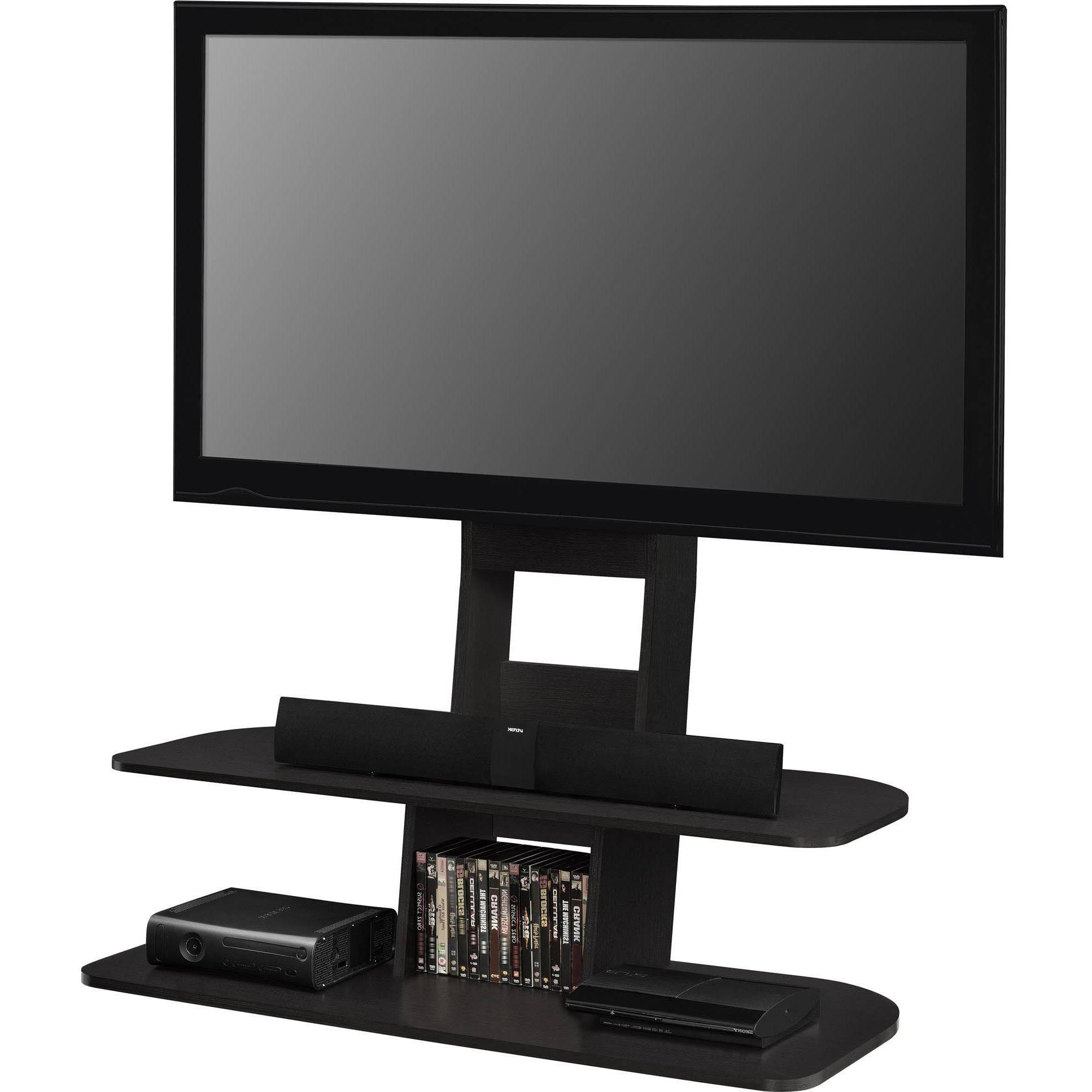 "Fashionable Ameriwood Home Galaxy Tv Stand With Mount For Tvs Up To 65"" Wide In Tv Stands With Mount (Gallery 9 of 20)"