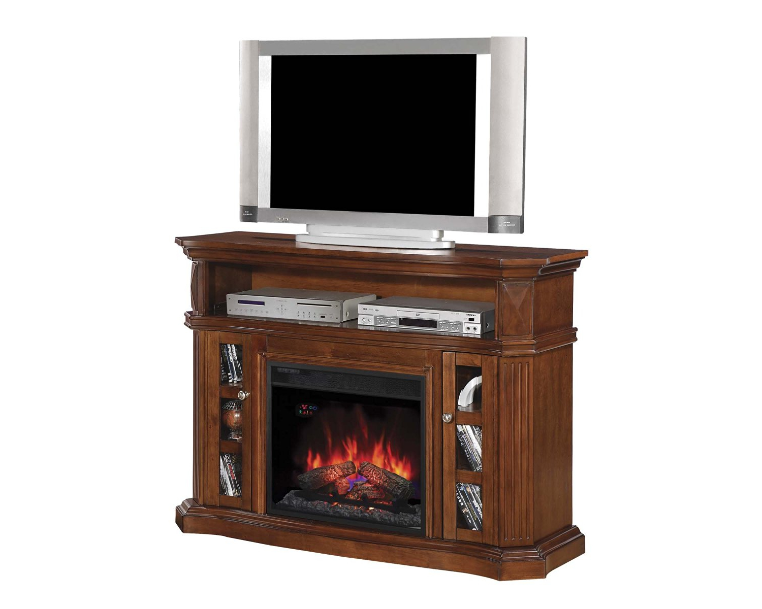 Fashionable Buy Classicflame 26mms9626 Nw145 Enterprise Tv Stand With Speakers Within Dixon White 65 Inch Tv Stands (View 16 of 20)