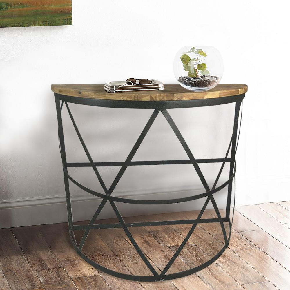 Fashionable Clairemont Demilune Console Tables In Demilune Console Table Within Clairemont Reviews Crate And Barrel (View 12 of 20)