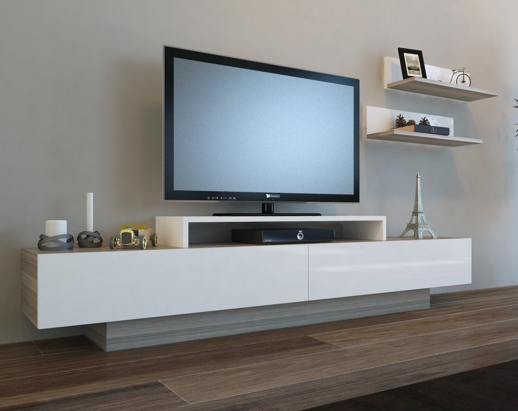 "Fashionable Cordoba Tv Stands Throughout Pritts Tv Stand For Tvs Up To 60"" In  (View 14 of 20)"