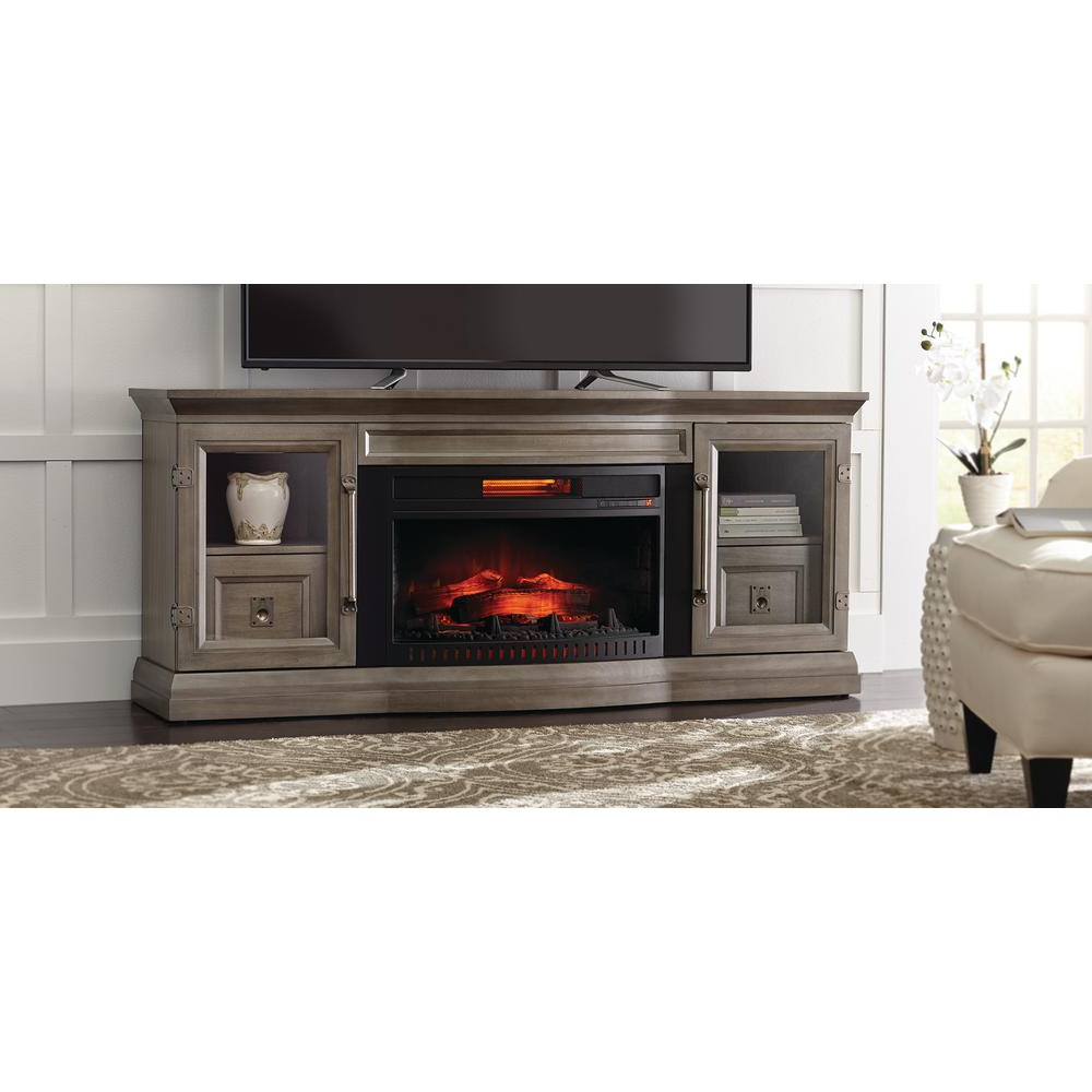 Fashionable Electric Fireplace Tv Stand Duraflame Heater Rustic With Bjs Outdoor In Bjs Tv Stands (View 15 of 20)