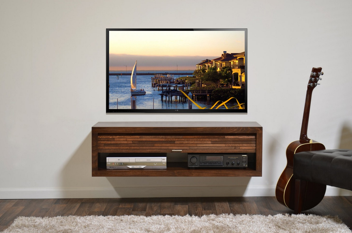 Fashionable Floating Glass Tv Stands In Pretentious Repurposed Pallet Tv Stand Her Diy Tv Stand Ideas In (Gallery 14 of 20)