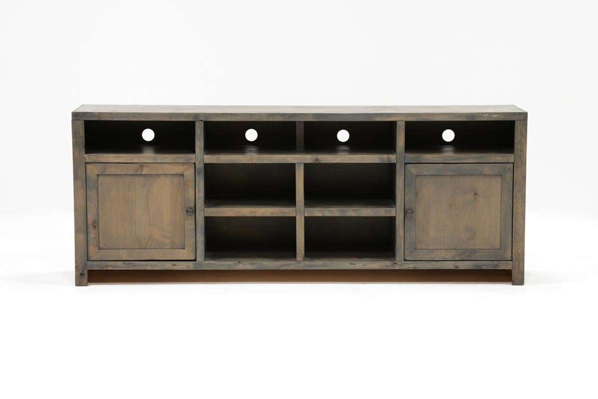 Fashionable Raven Grey Tv Stands Throughout Ducar 84 Inch Tv Stand (View 6 of 20)